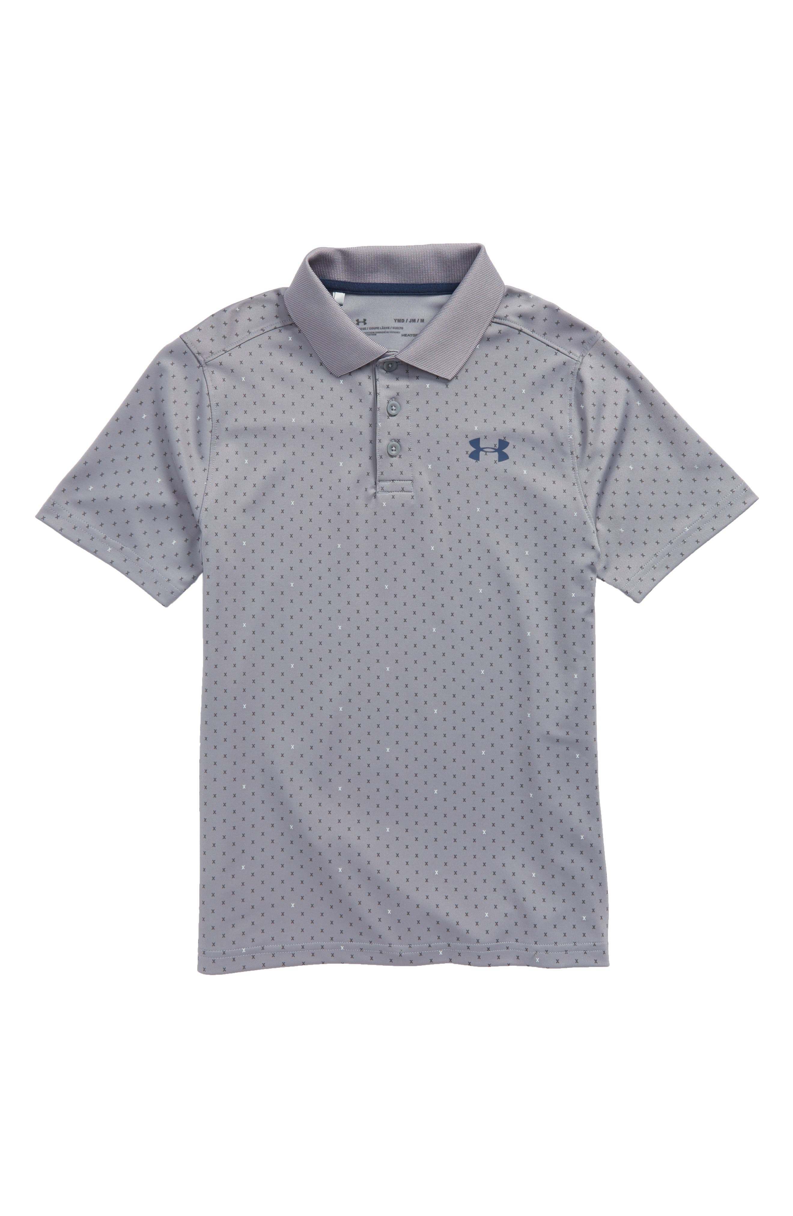 HeatGear<sup>®</sup> Polo,                             Main thumbnail 1, color,                             020