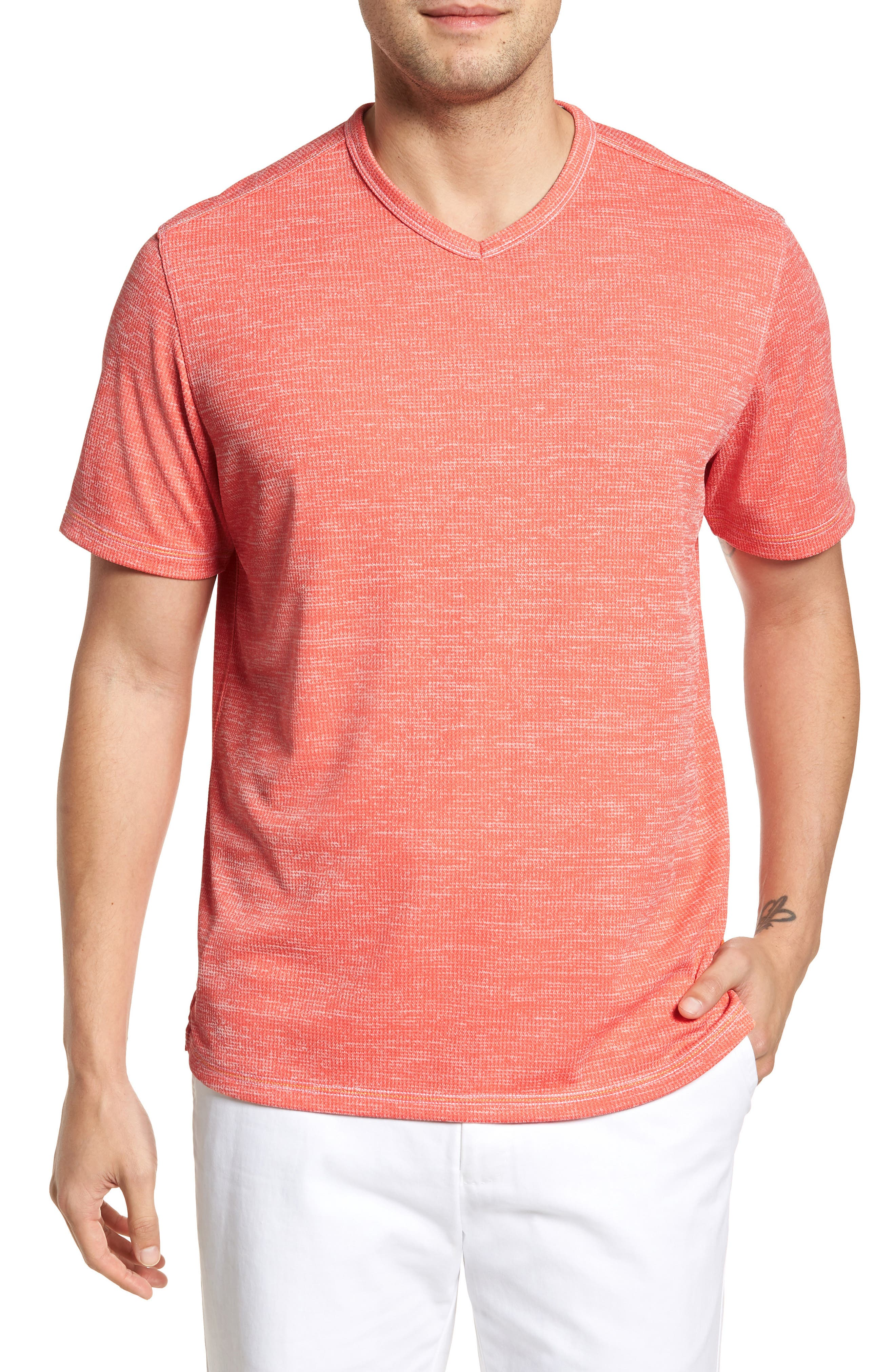 Sand Key V-Neck T-Shirt,                             Main thumbnail 8, color,