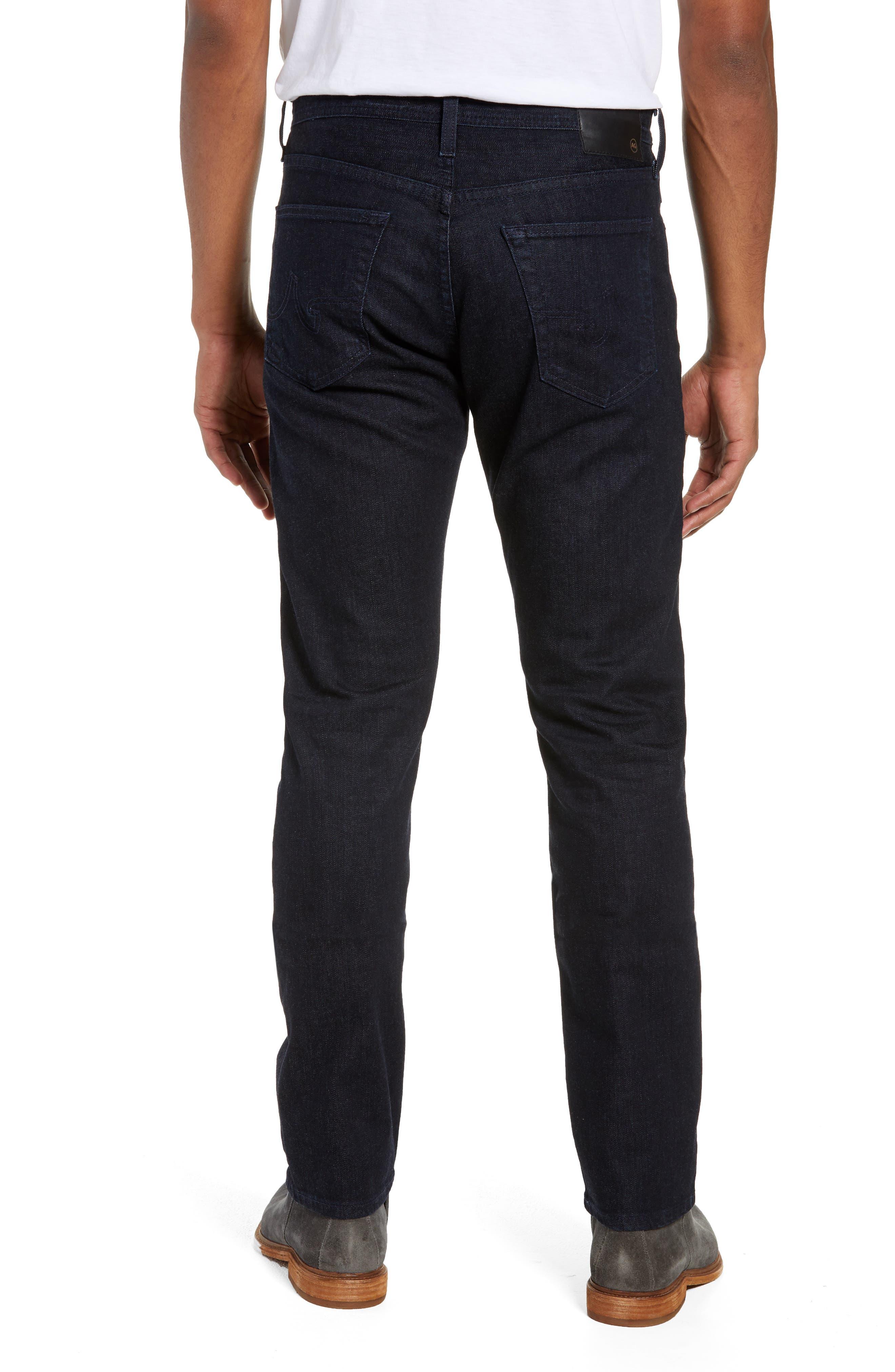 Everett Slim Straight Leg Jeans,                             Alternate thumbnail 2, color,                             BARNES