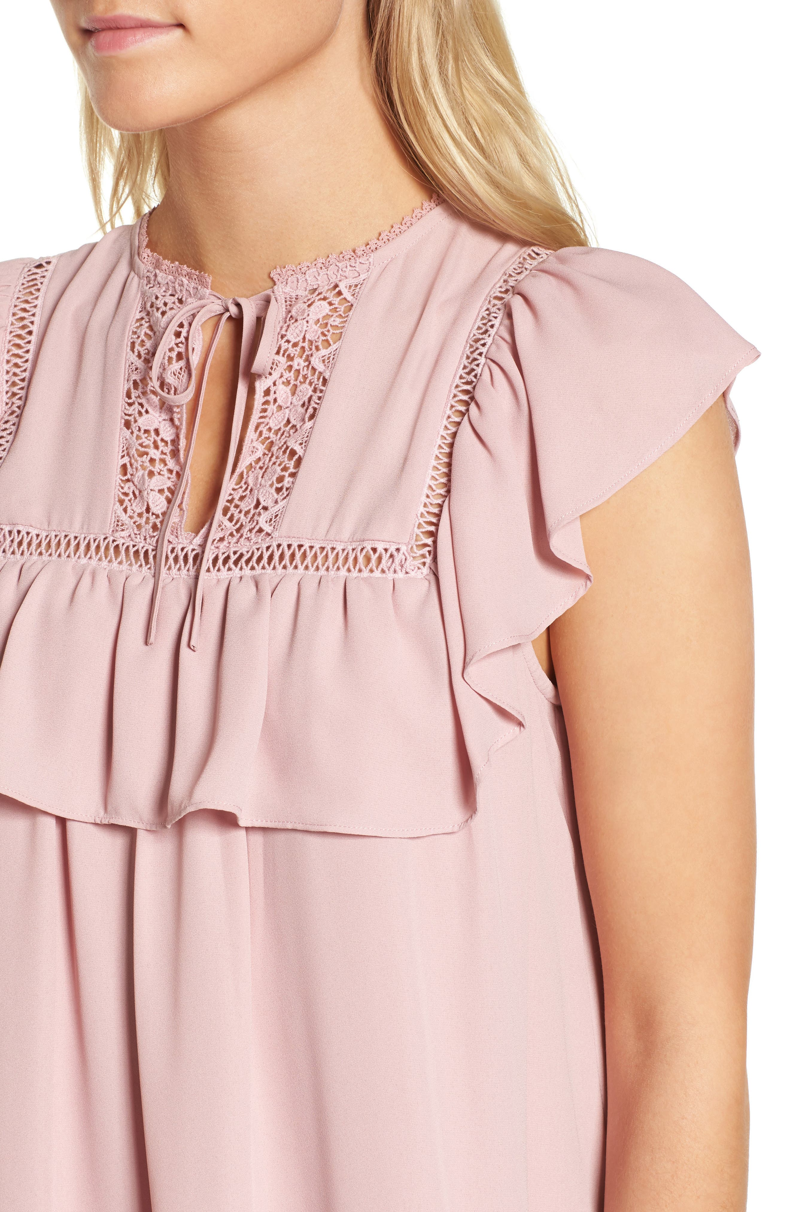 Sorbonne Babydoll Dress,                             Alternate thumbnail 8, color,