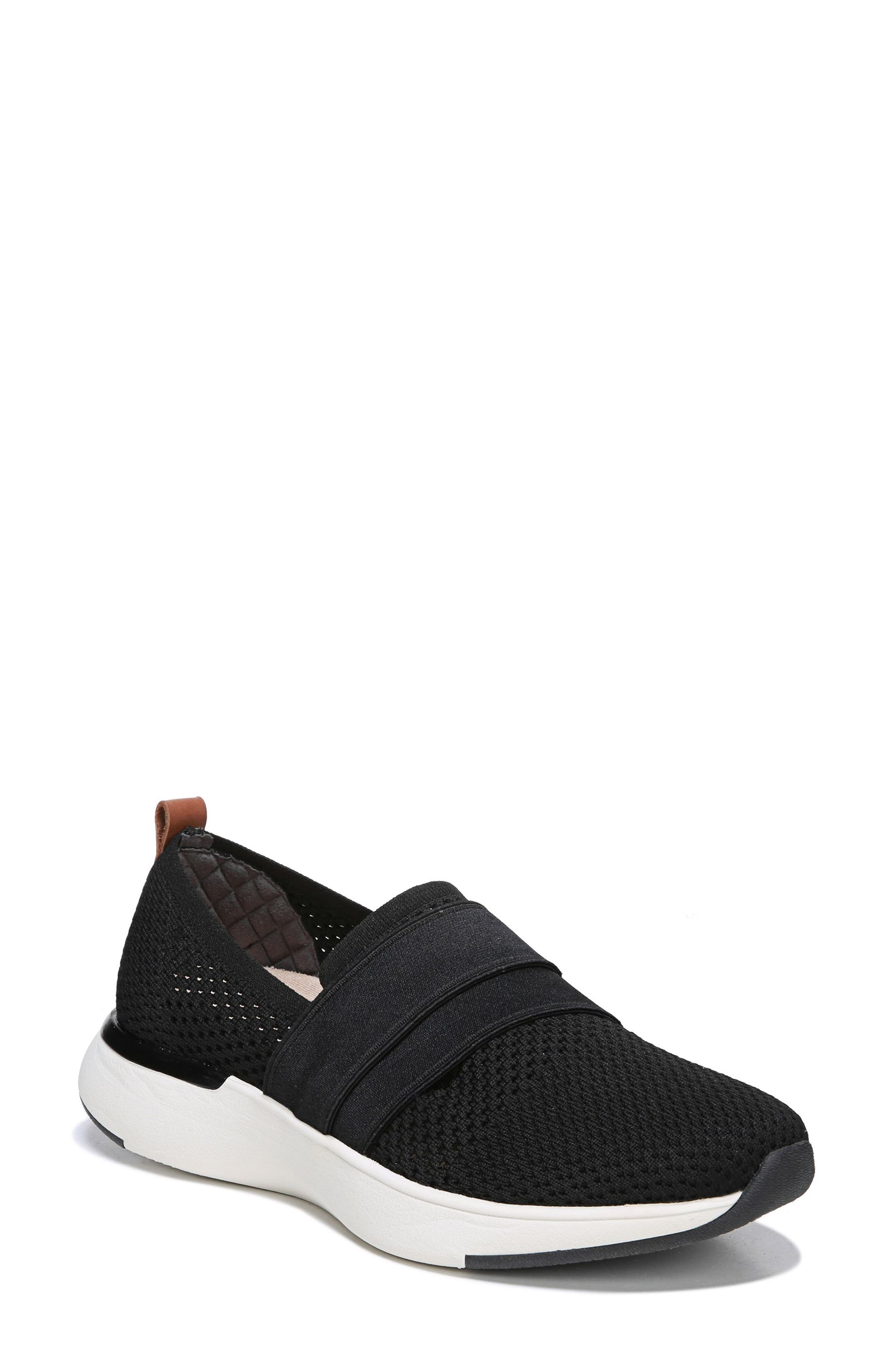 Slay All Day Sneaker, Main, color, BLACK FABRIC