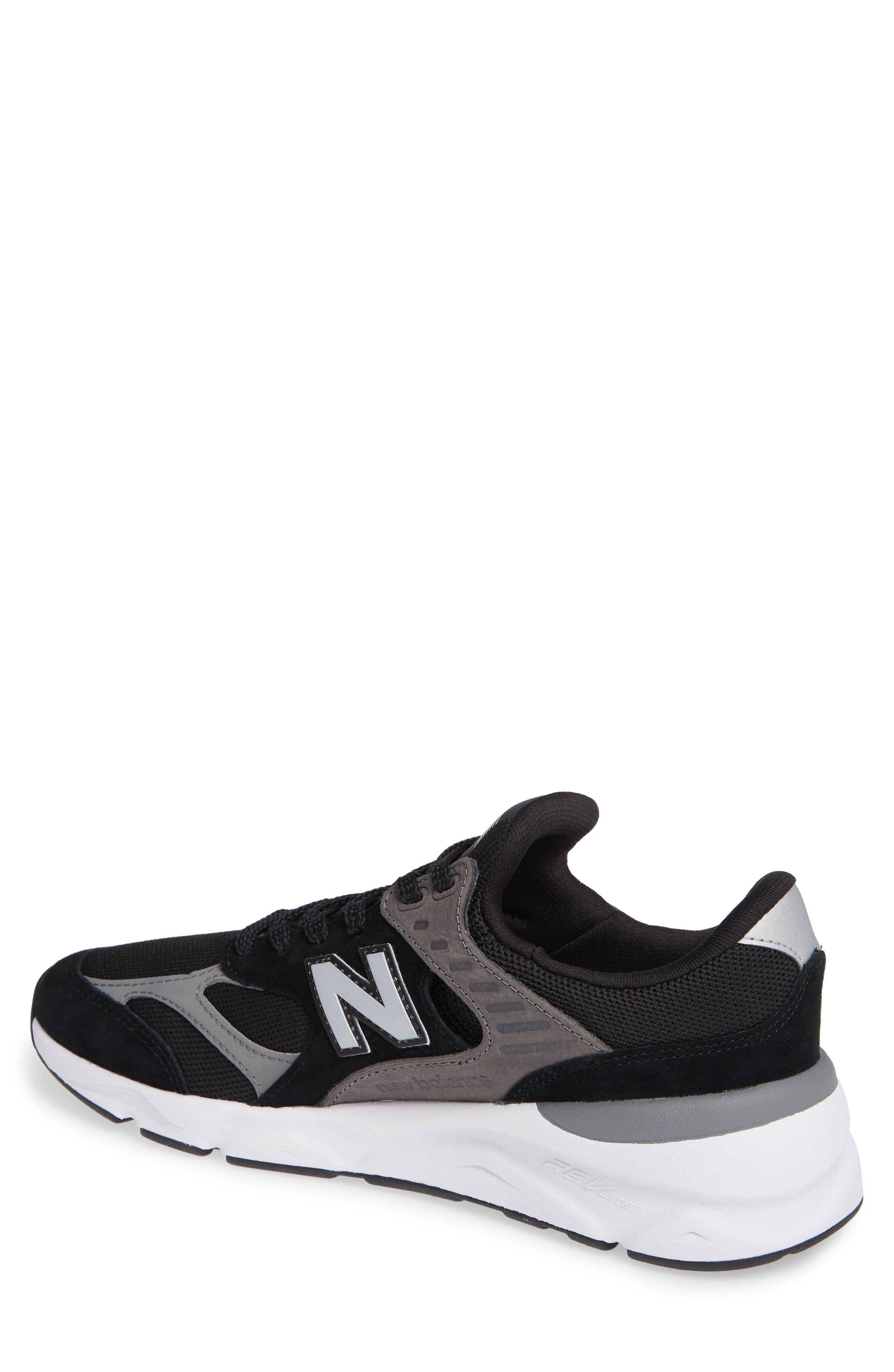 X-90 Sneaker,                             Alternate thumbnail 2, color,                             BLACK