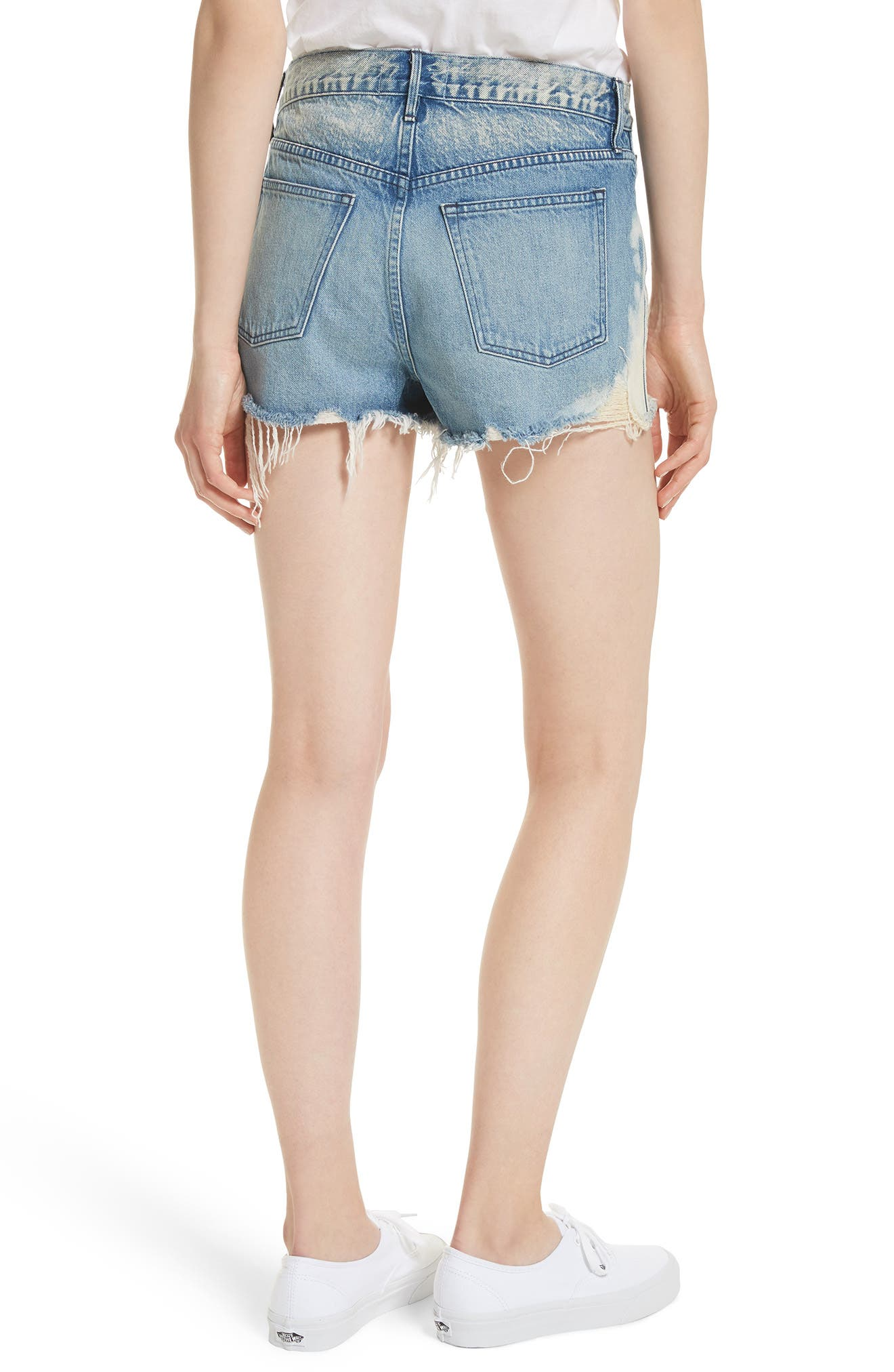 W2 Mason Denim Shorts,                             Alternate thumbnail 2, color,                             VANDAL