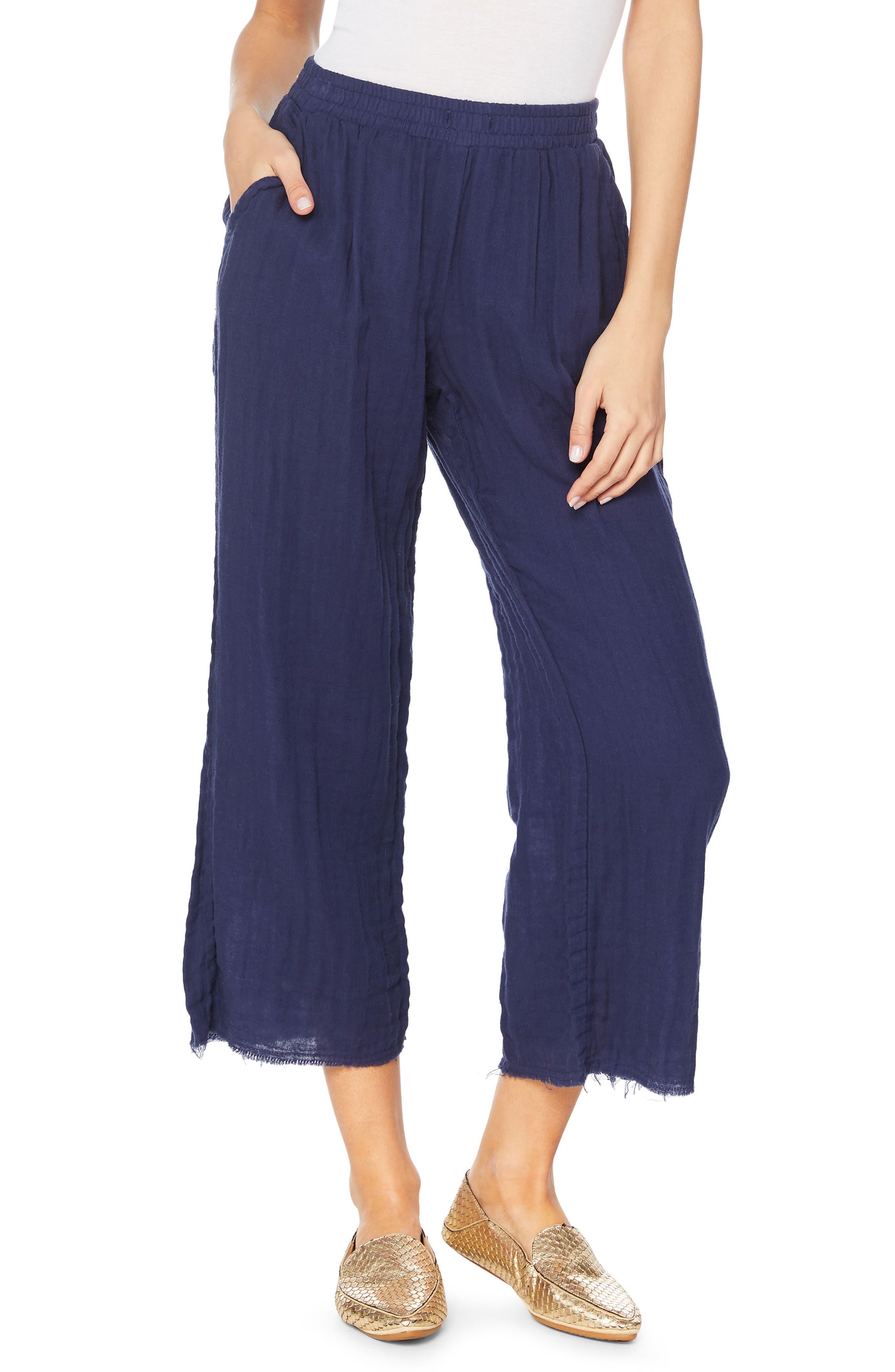 Gauze Pants,                             Main thumbnail 2, color,