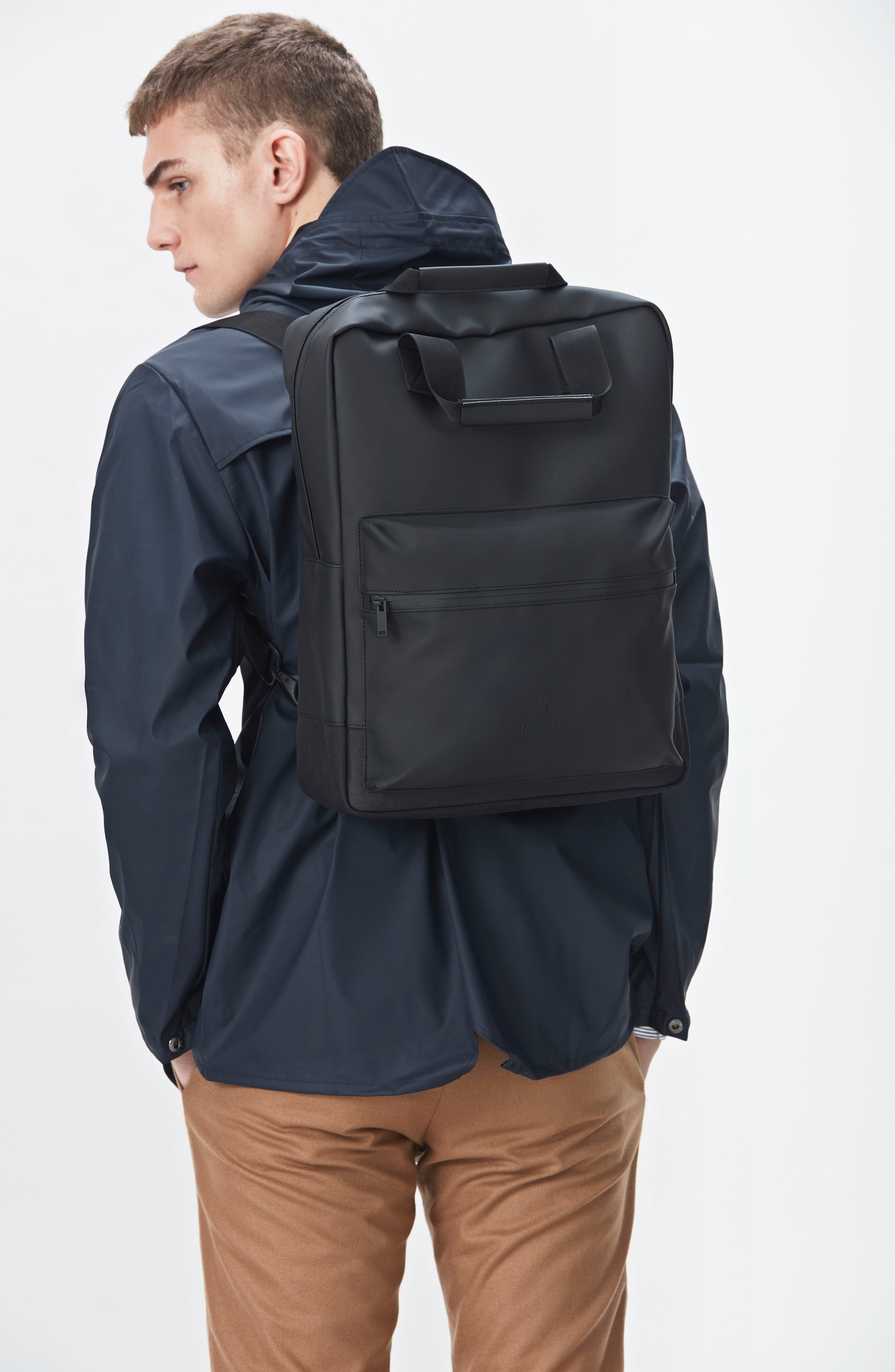 Scout Backpack,                             Alternate thumbnail 7, color,                             BLACK