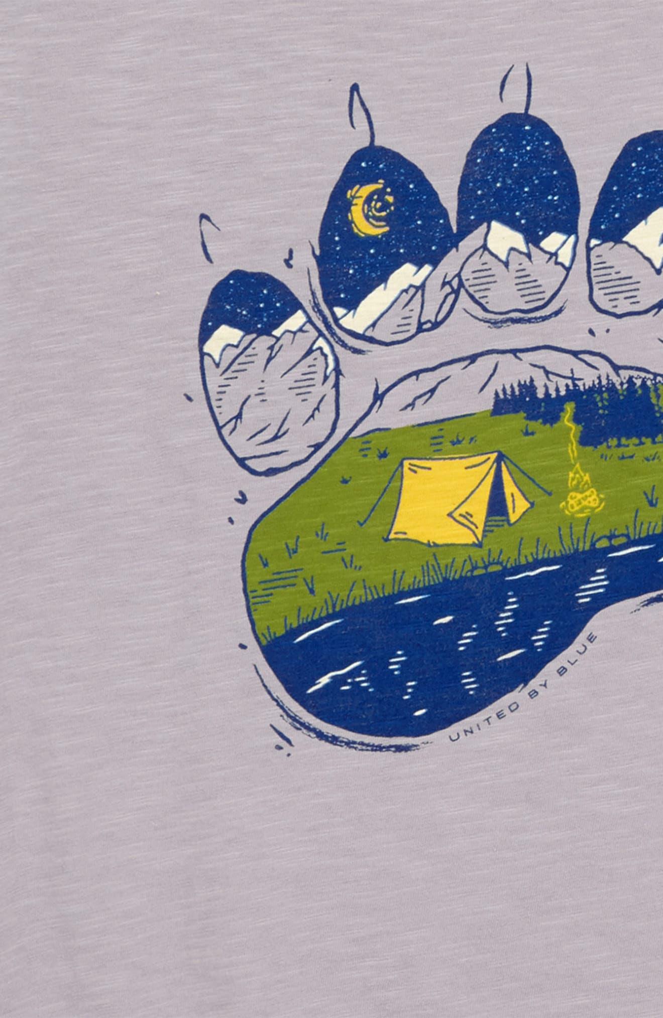 Paw Print T-Shirt,                             Alternate thumbnail 2, color,                             020