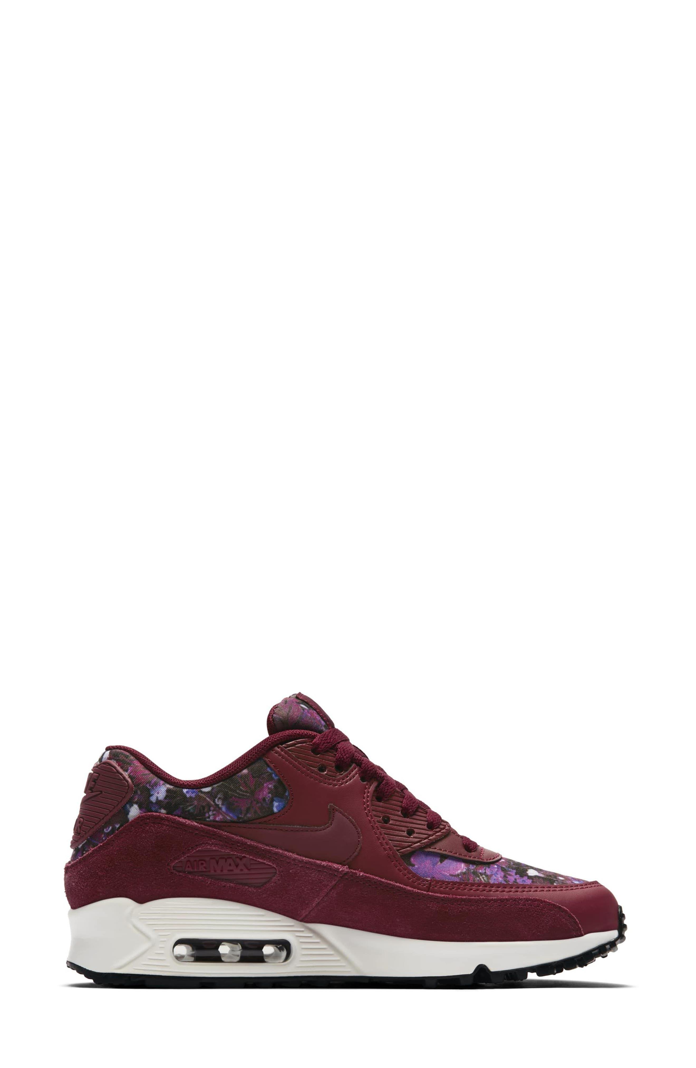 Air Max 90 SE Sneaker,                             Alternate thumbnail 27, color,
