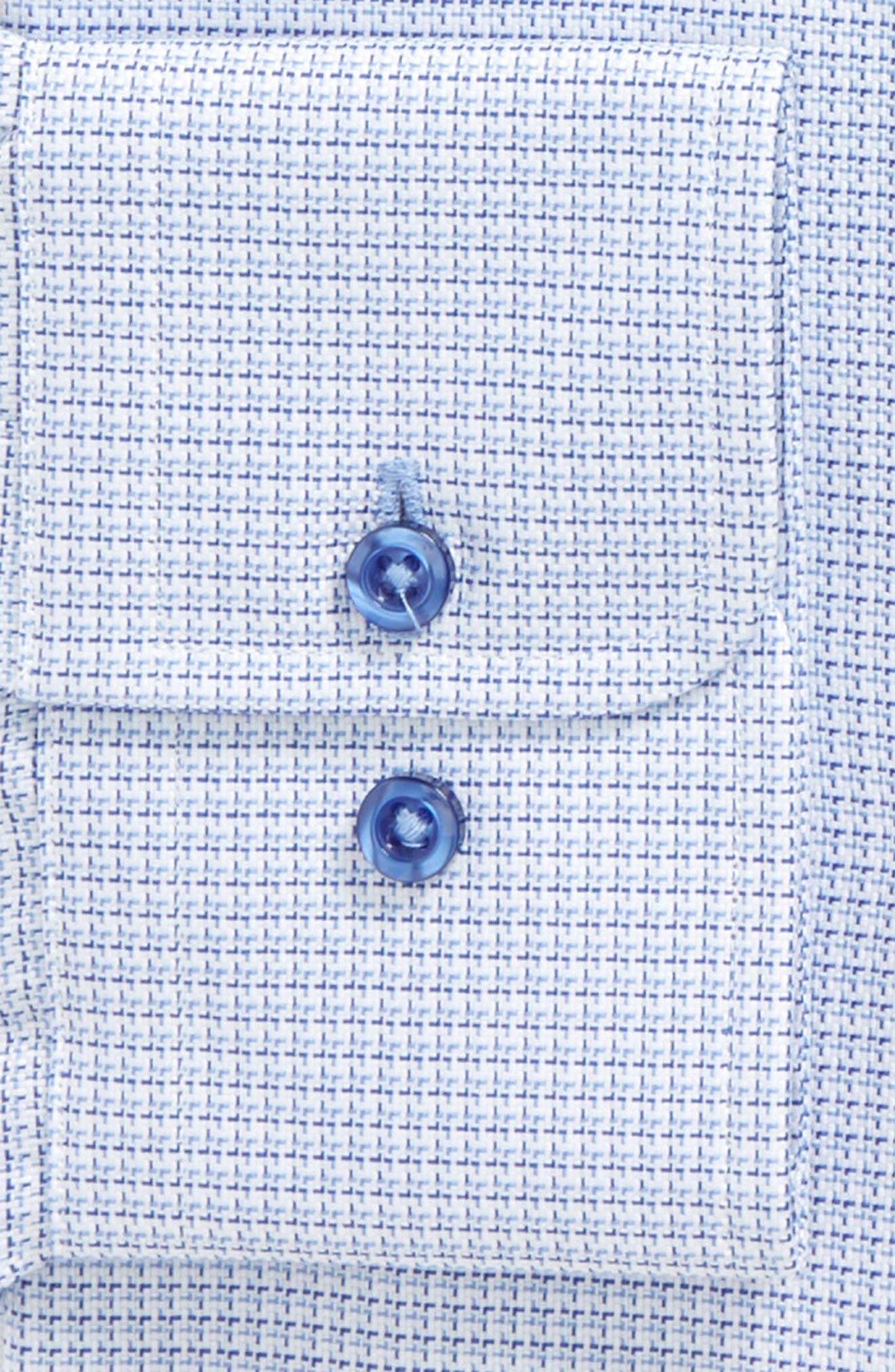 Regular Fit Check Dress Shirt,                             Alternate thumbnail 2, color,                             BLUE