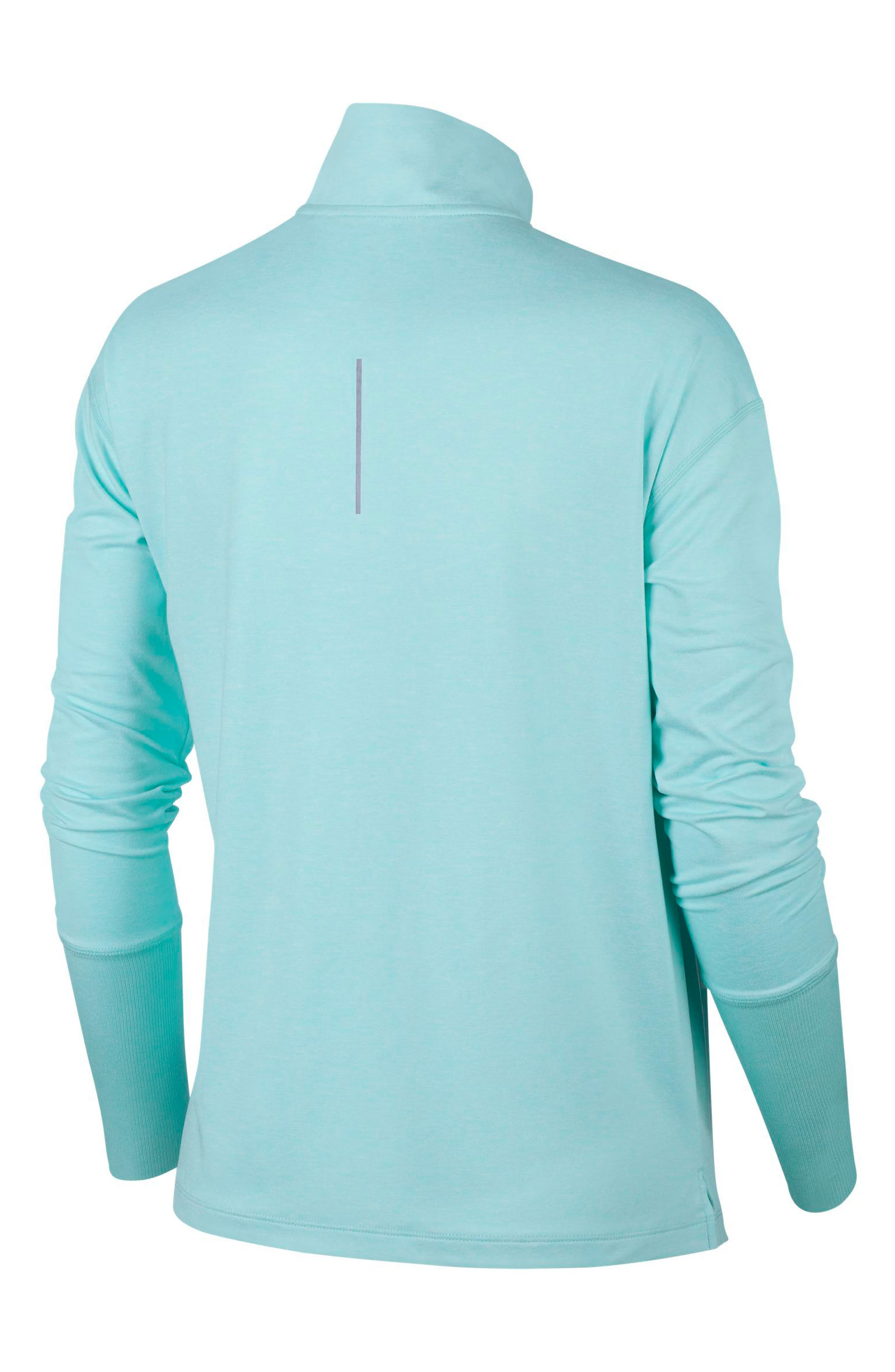 Element Long-Sleeve Running Top,                             Alternate thumbnail 8, color,                             TROPICAL TWIST/ TEAL TINT