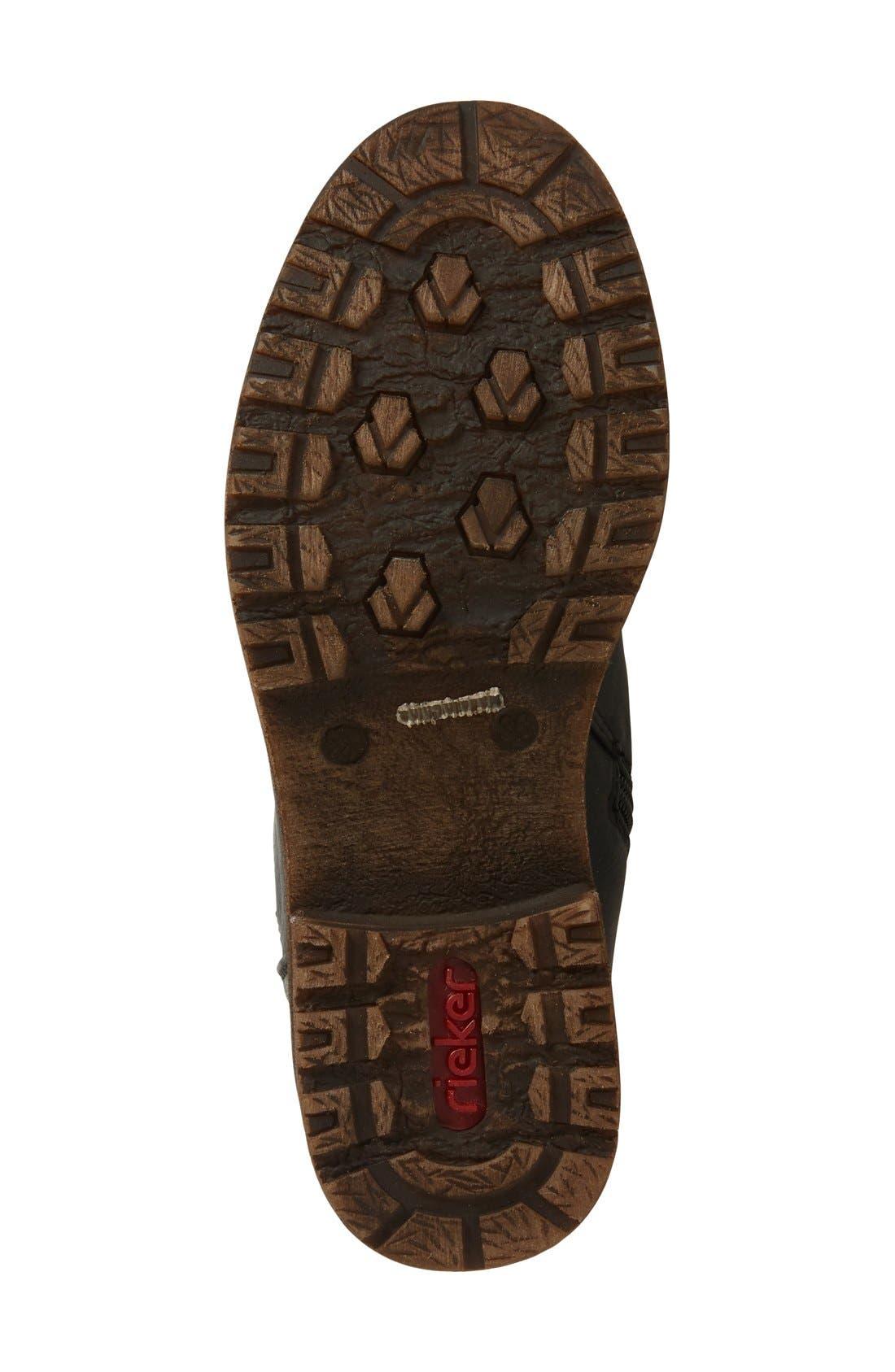 Dominika 73 Water Resistant Boot,                             Alternate thumbnail 4, color,                             001