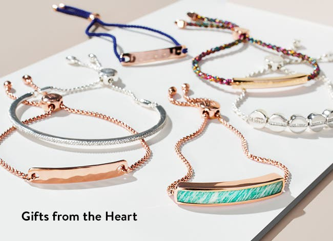 Gifts from the heart: Valentine's Day jewelry.