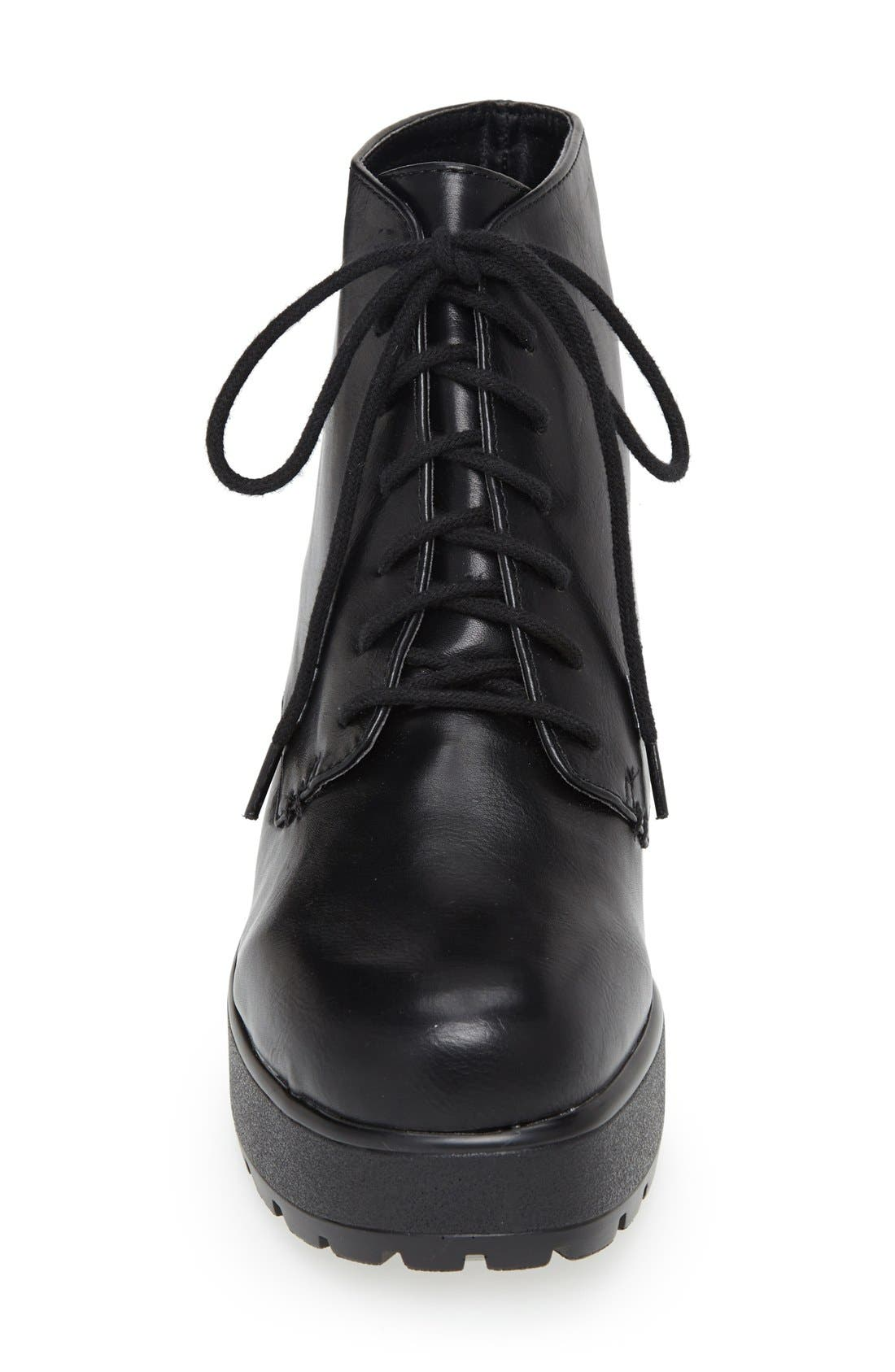 'Brit' Platform Boot,                             Alternate thumbnail 2, color,                             001