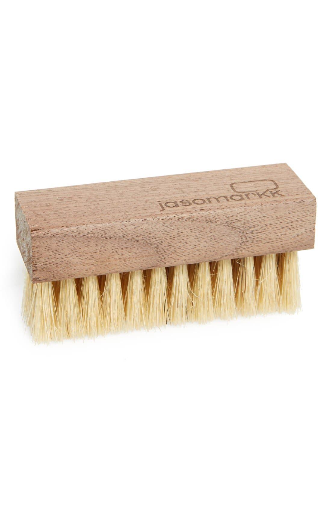 Premium Shoe Cleaning Brush,                             Main thumbnail 1, color,                             BROWN