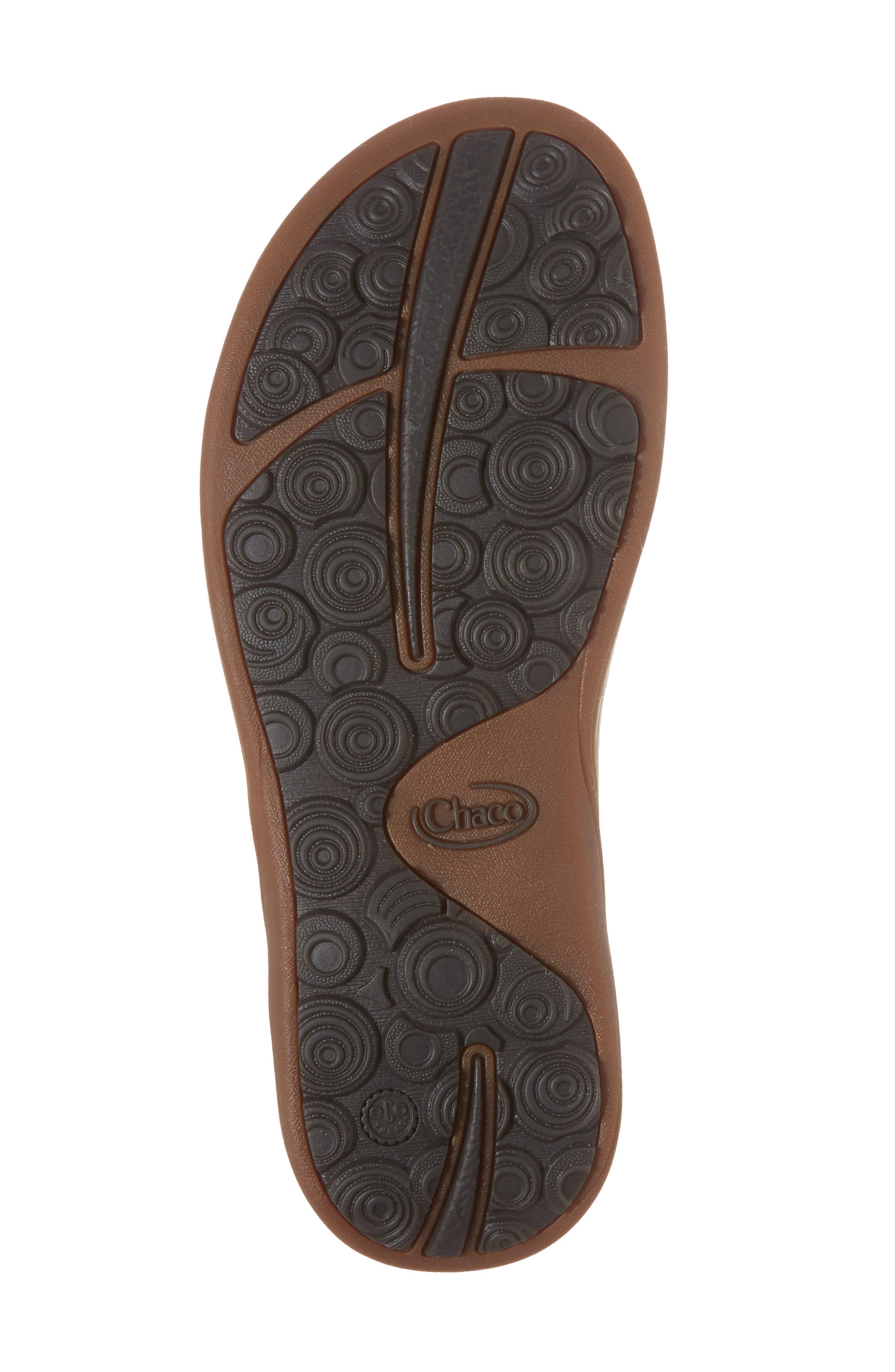 Loveland Sandal,                             Alternate thumbnail 6, color,                             DOLMAN BLACK