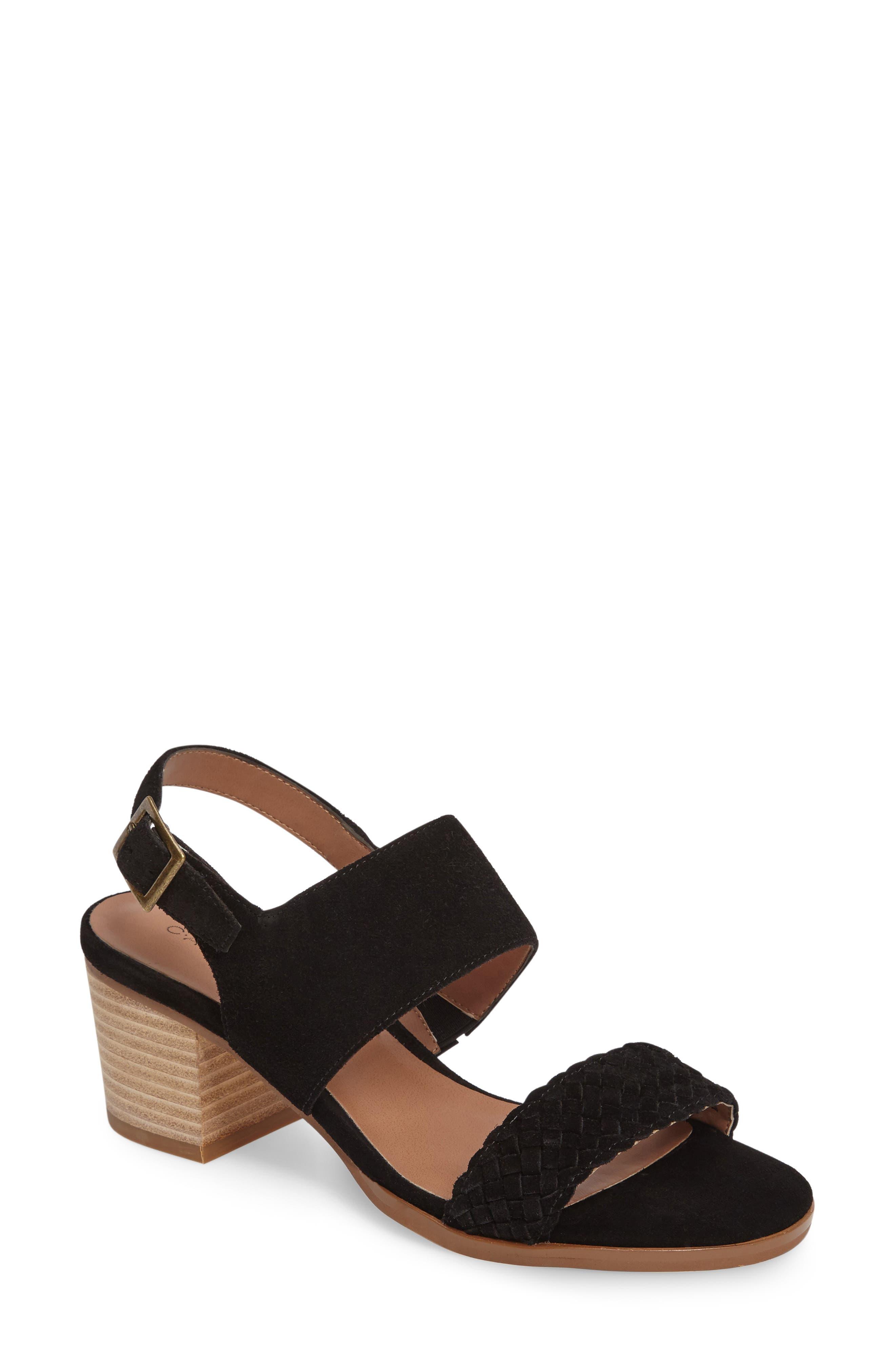 CASLON<SUP>®</SUP> Carden 2 Sandal, Main, color, 001