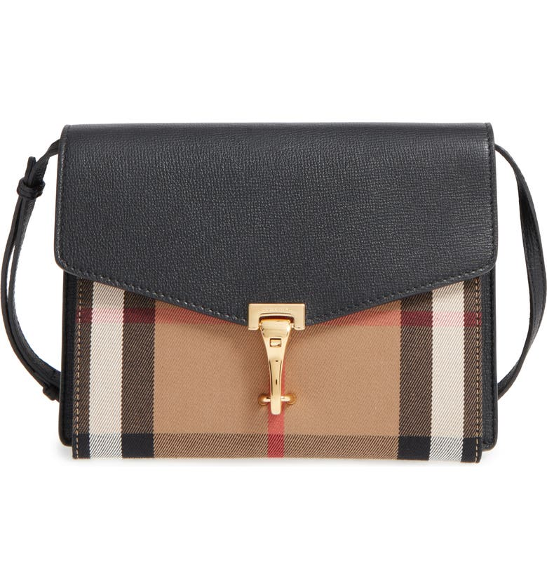 Burberry  Small Macken  Check Crossbody Bag  e0557959fdfd1