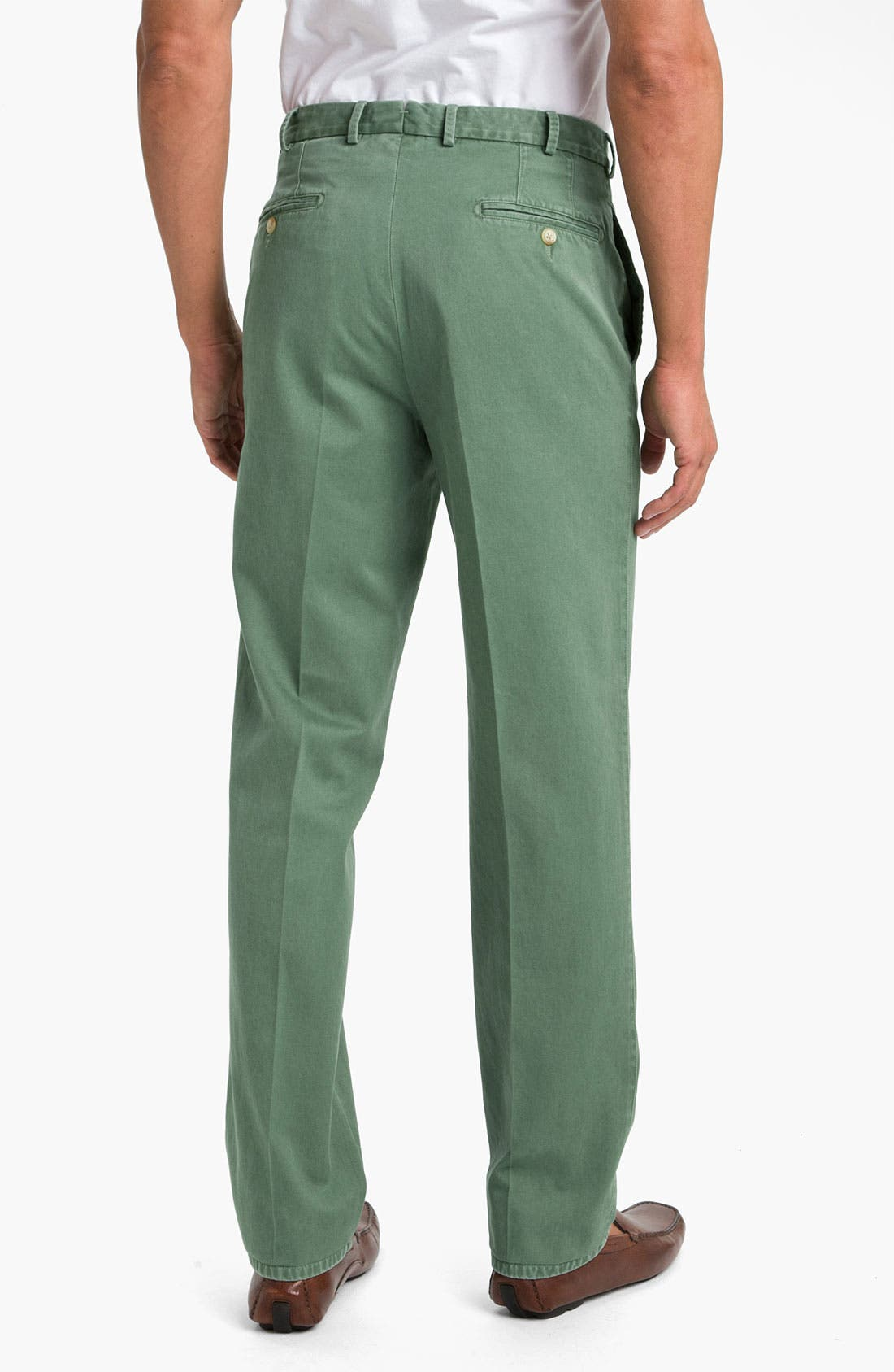 Garment Washed Twill Pants,                             Alternate thumbnail 46, color,