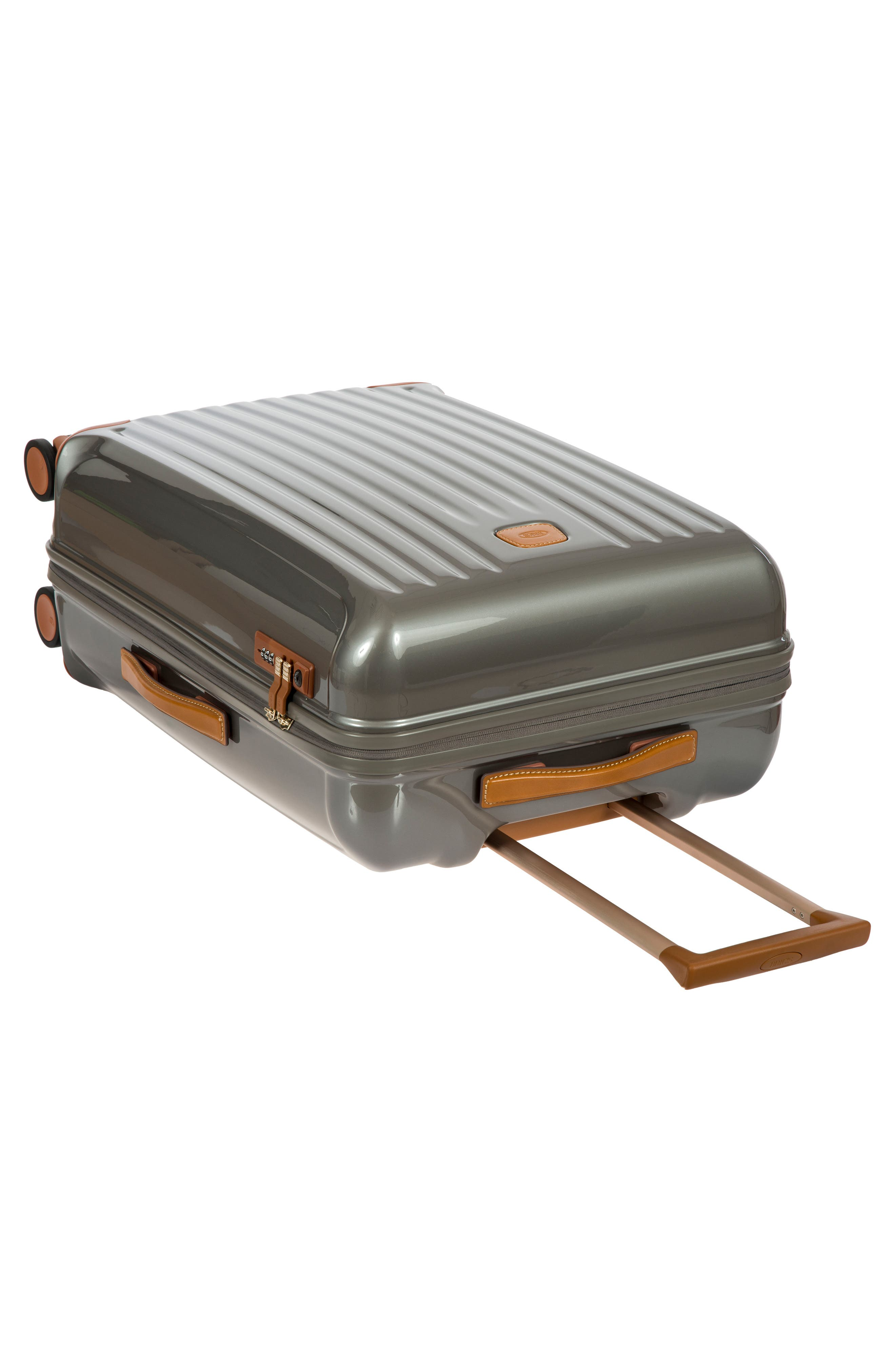 Capri 27-Inch Rolling Suitcase,                             Alternate thumbnail 6, color,                             GREY