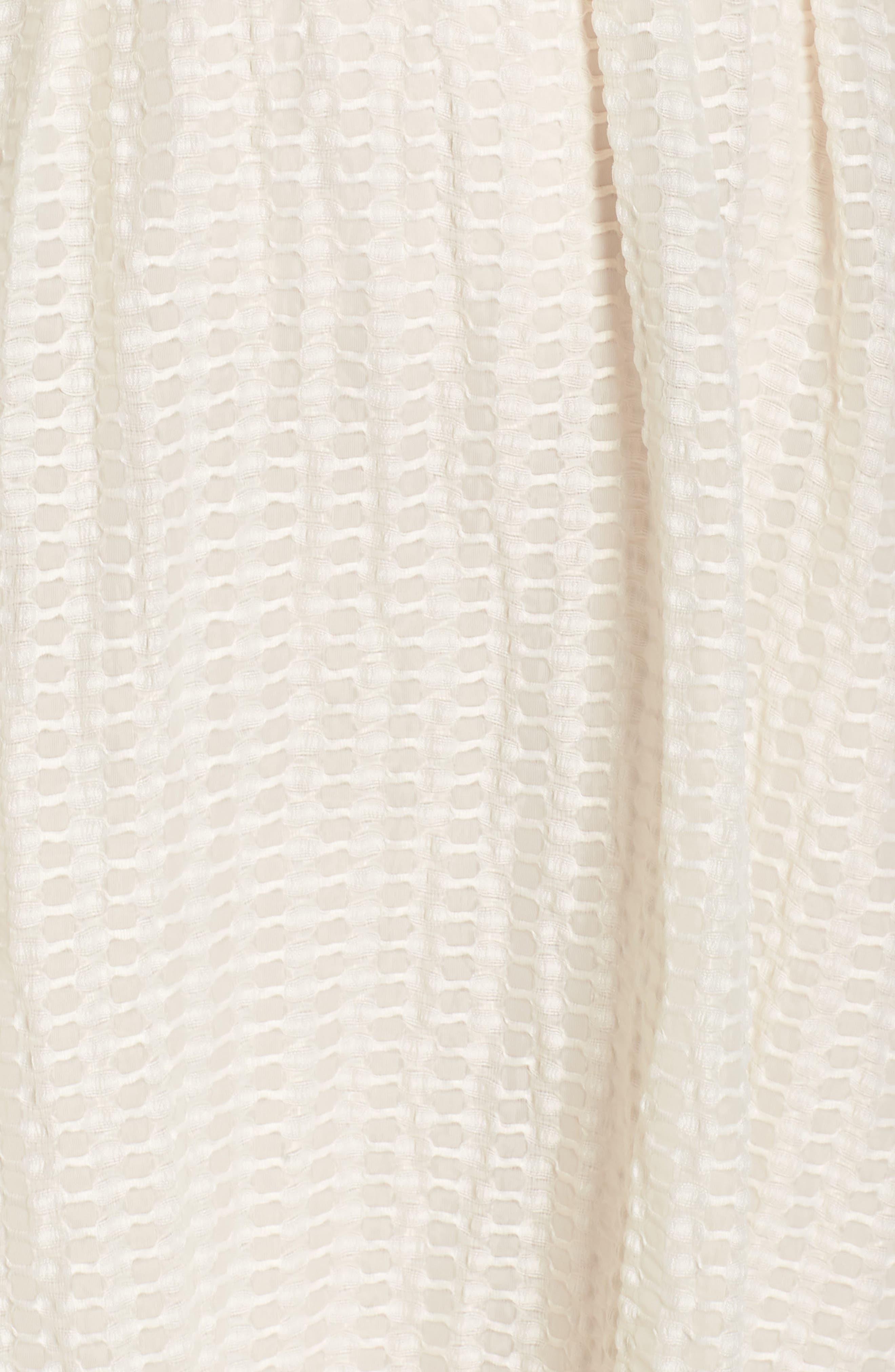 The Evelyn Textured Midi Dress,                             Alternate thumbnail 7, color,                             900
