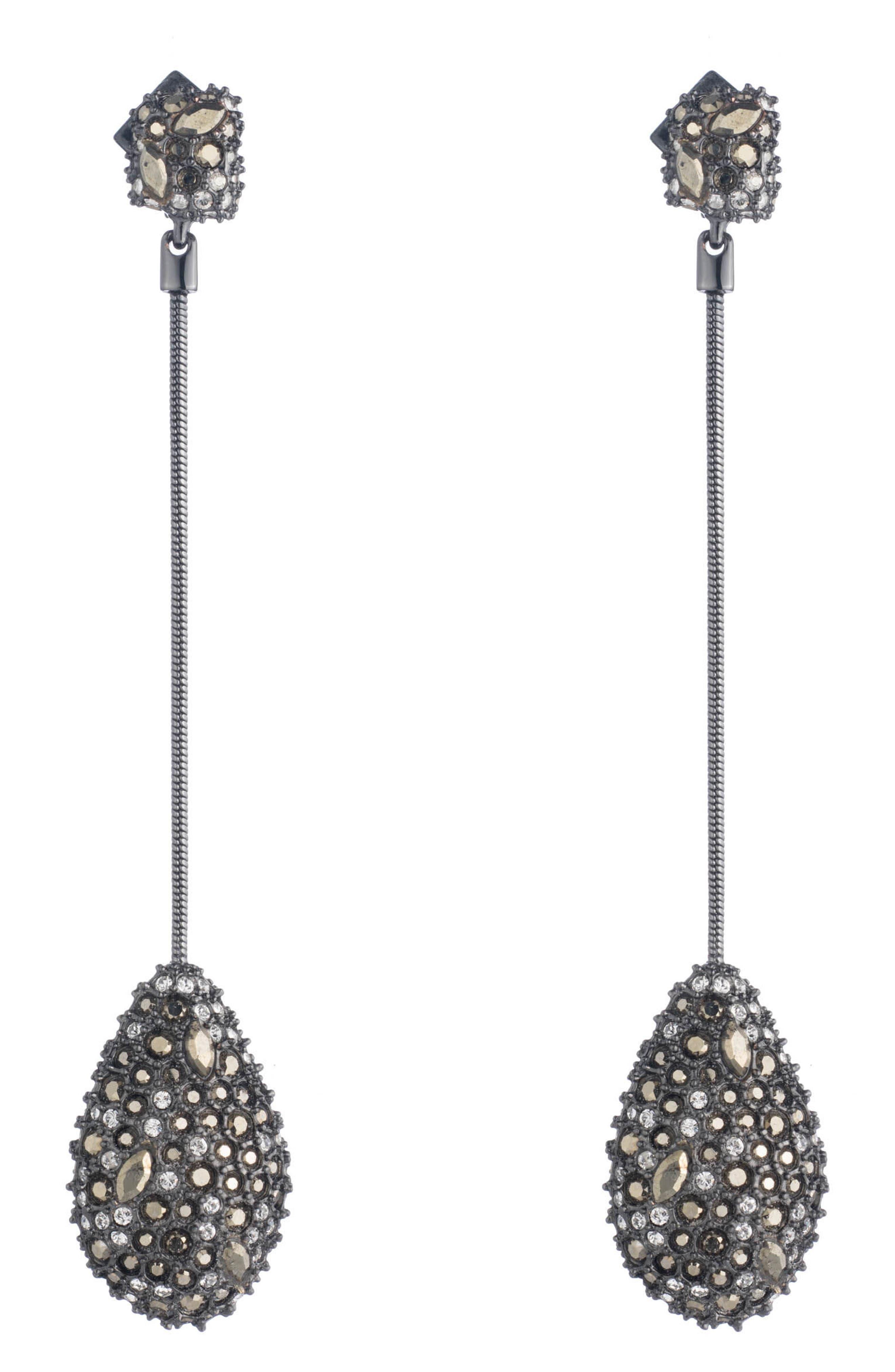 Elements Long Teardrop Earrings,                         Main,                         color,