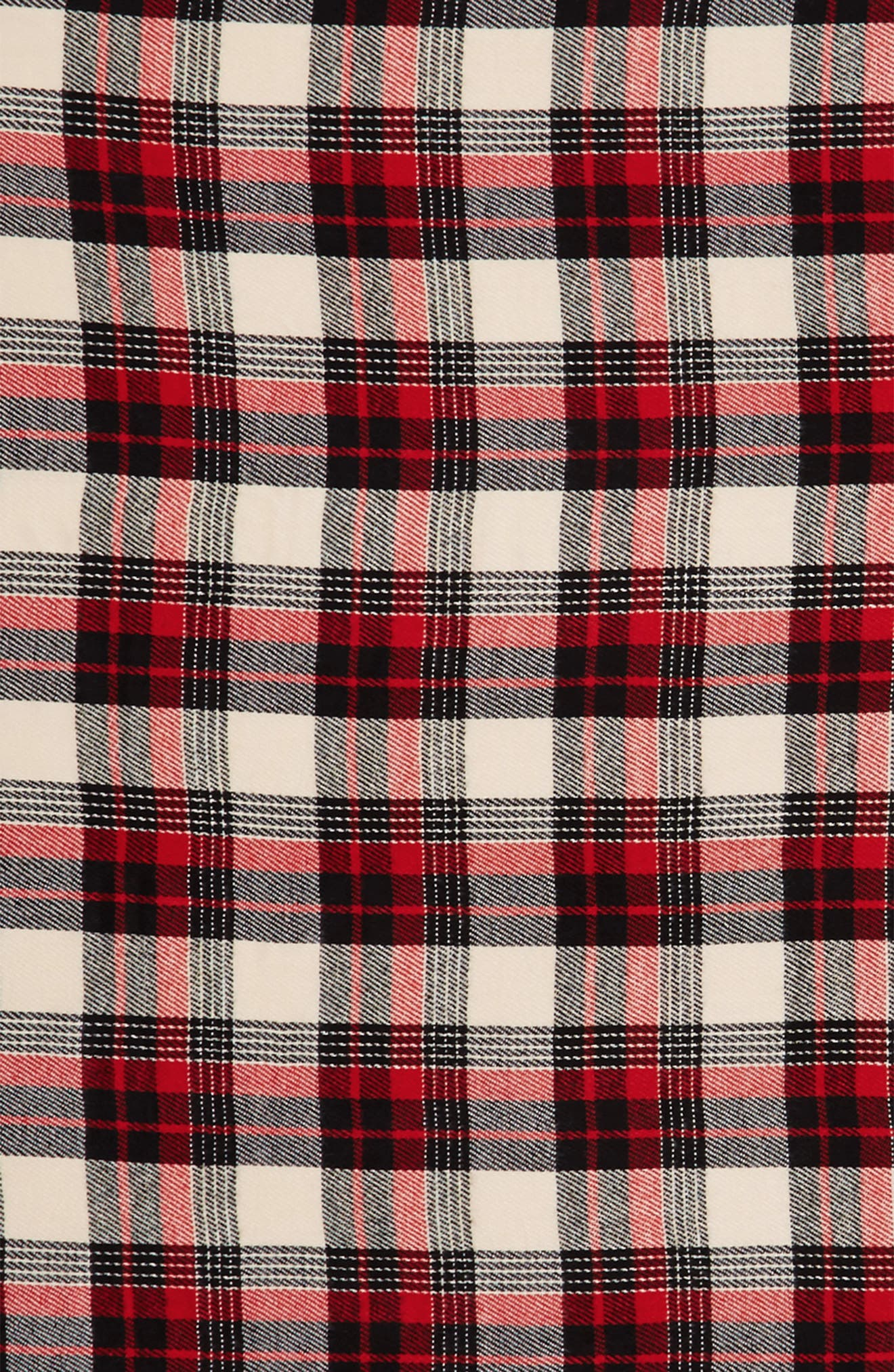 Plaid Scarf,                             Alternate thumbnail 4, color,                             020