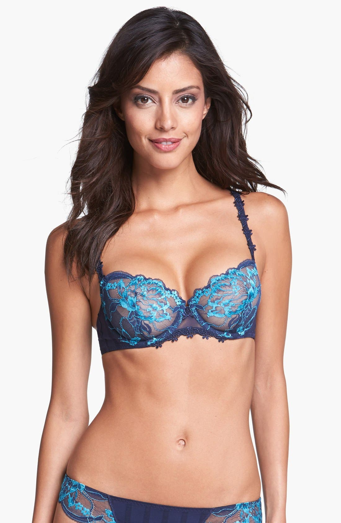 'Amour' Underwire Demi Bra,                             Main thumbnail 7, color,