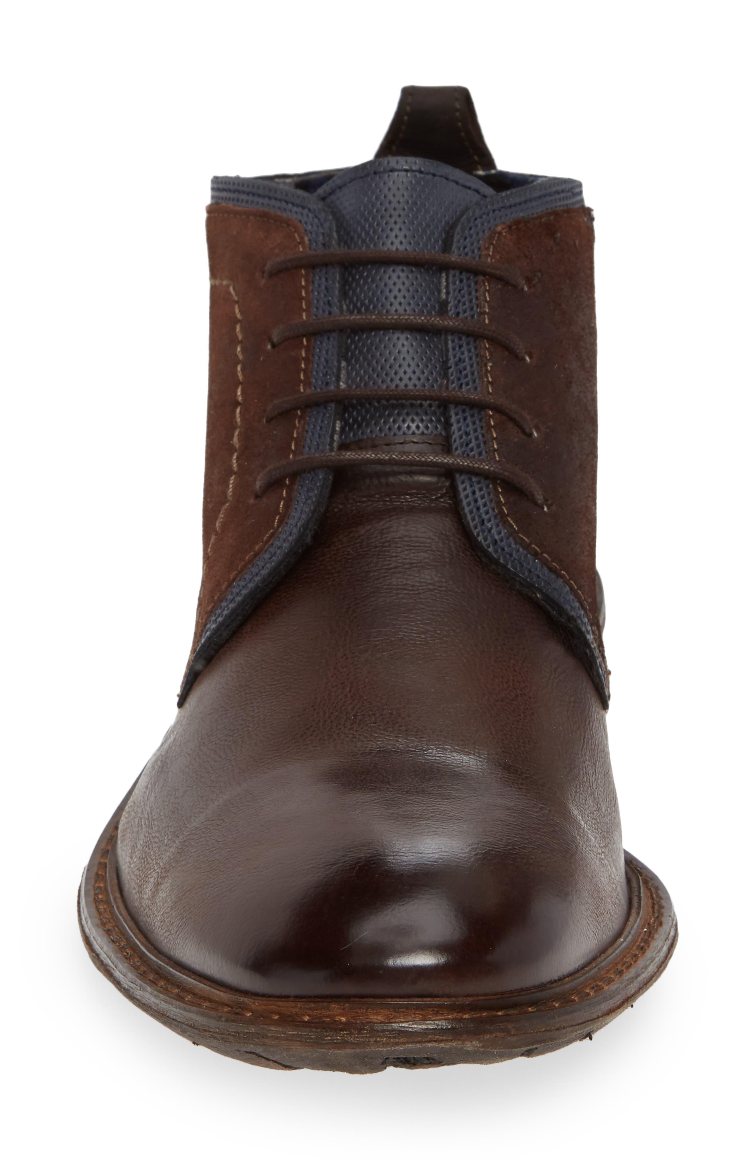 Dingo Plain Toe Boot,                             Alternate thumbnail 4, color,                             TOBACCO LEATHER