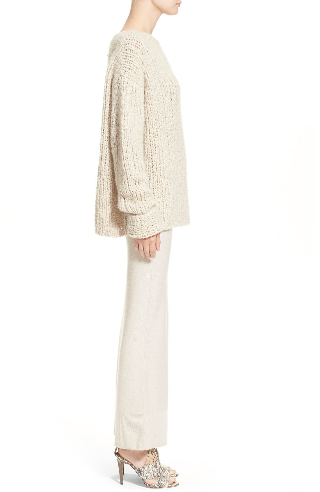 Donna KaranCollection Hand Knit Cashmere Sweater,                             Alternate thumbnail 3, color,                             282