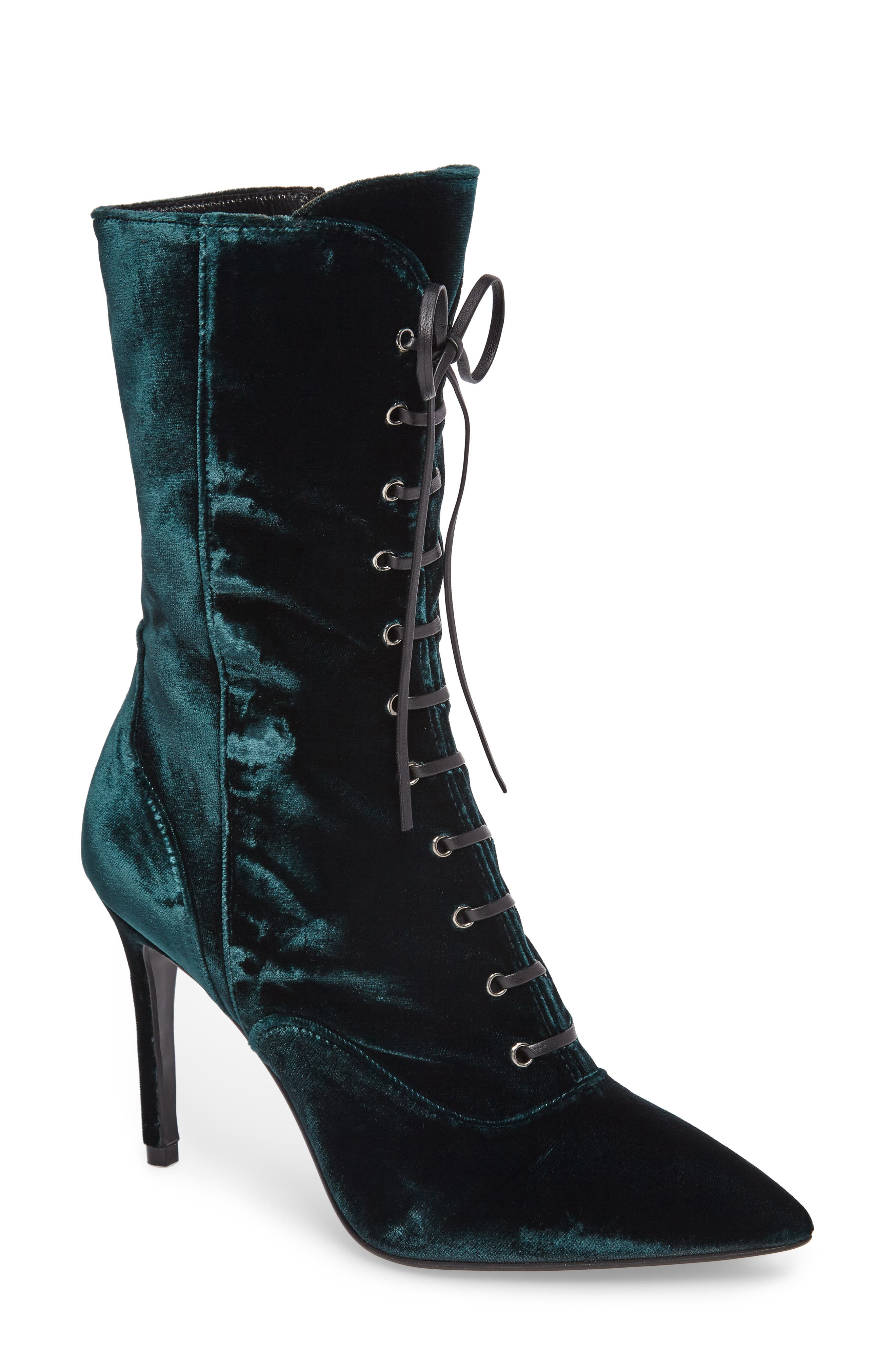 Loretta Pointy Toe Bootie,                             Main thumbnail 2, color,