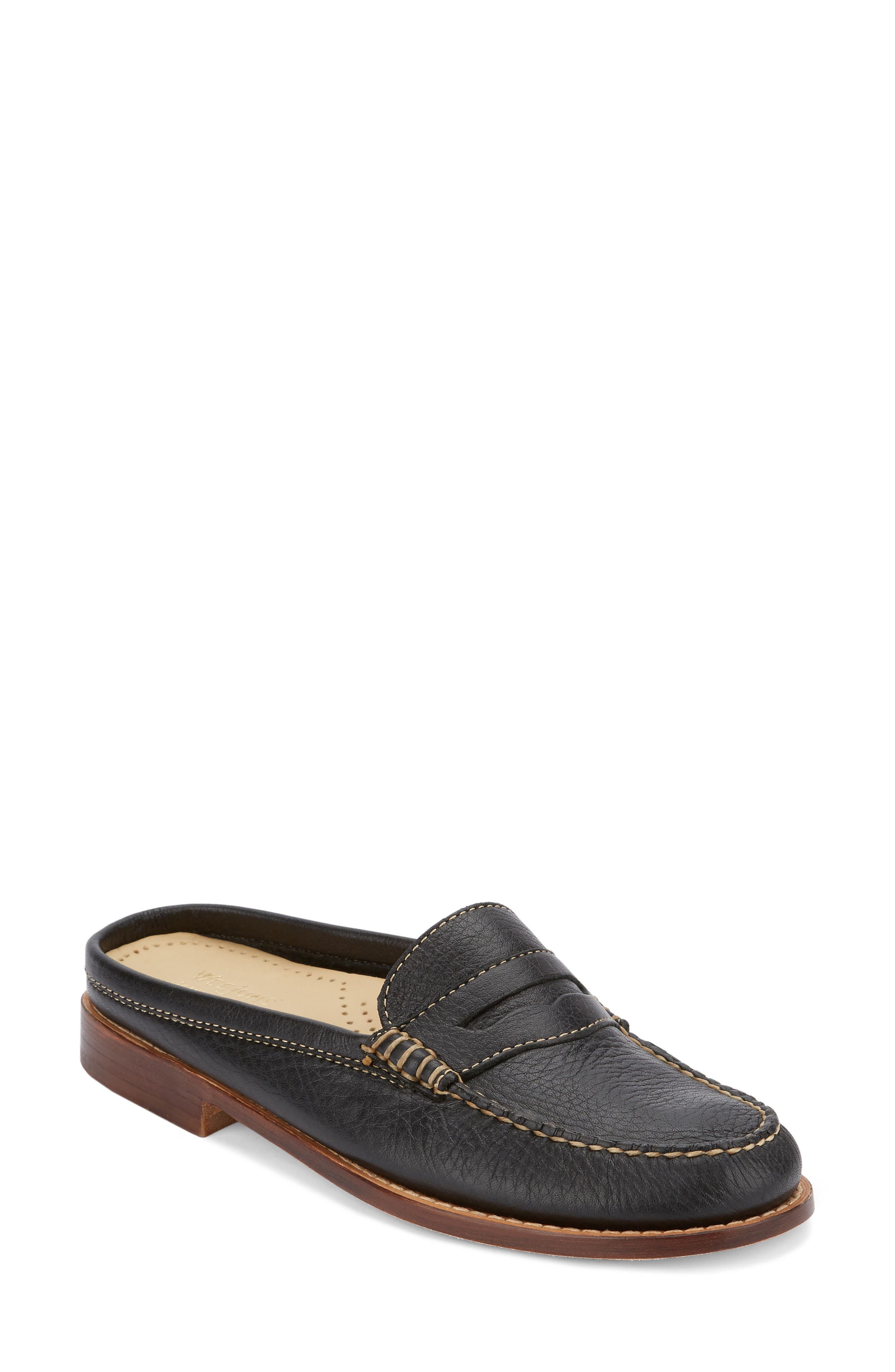 Wynn Loafer Mule,                             Main thumbnail 1, color,                             002