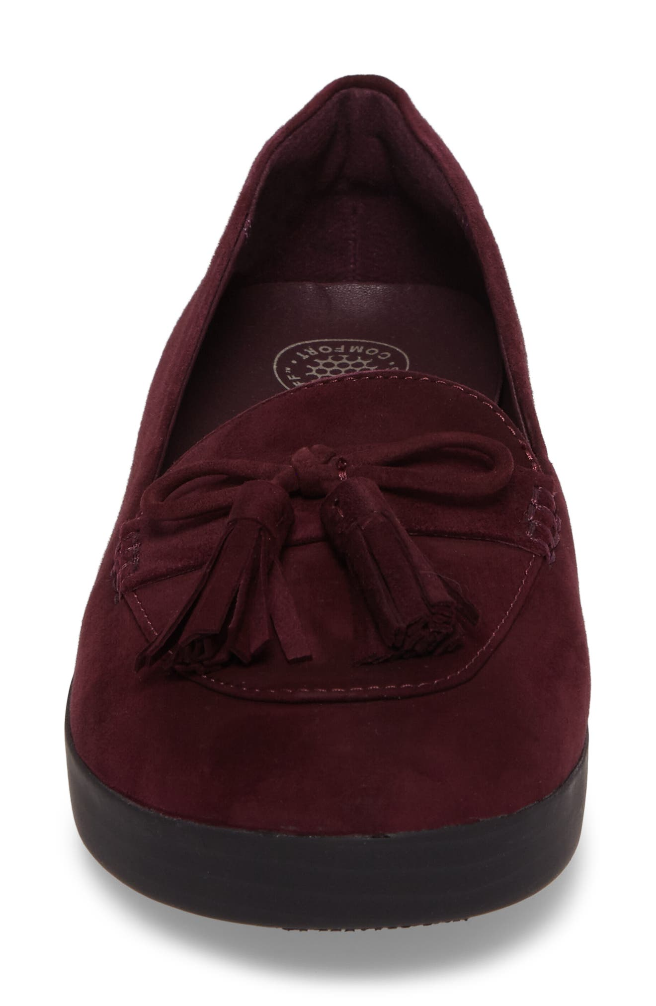 Tassel Bow Sneakerloafer<sup>™</sup> Water Repellent Flat,                             Alternate thumbnail 16, color,