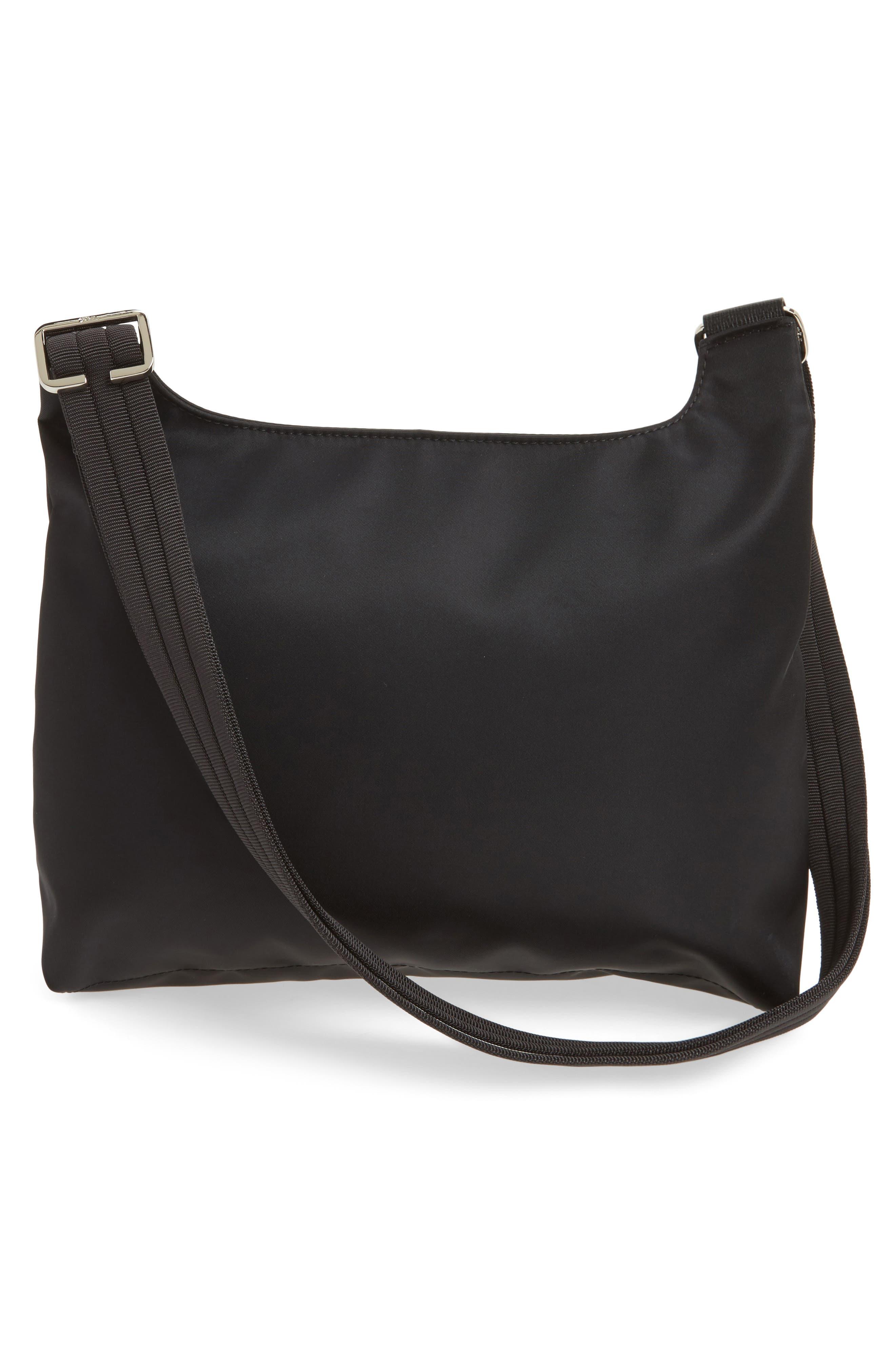 'Le Pliage Neo' Nylon Crossbody Bag,                             Alternate thumbnail 4, color,                             BLACK