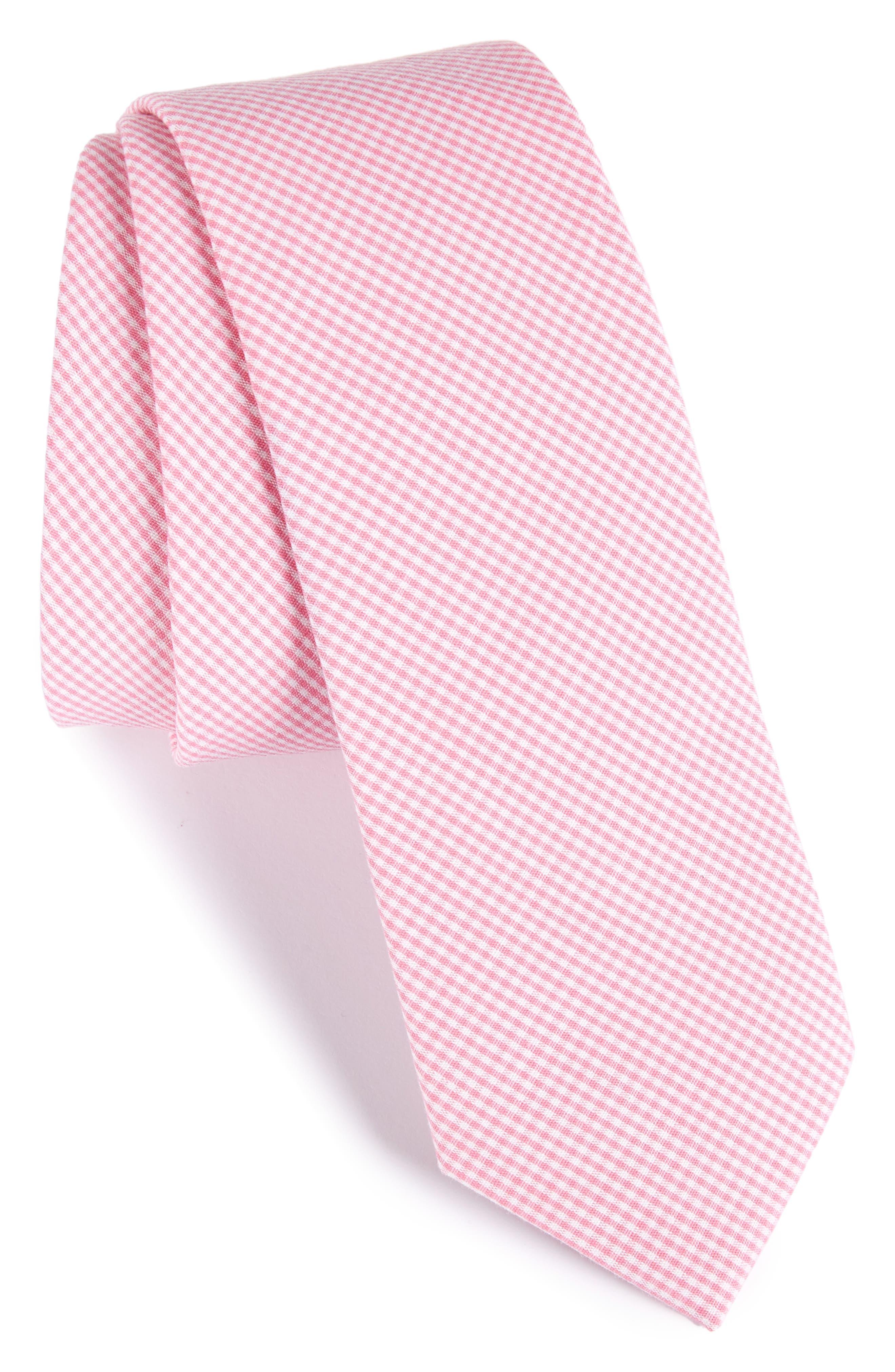 Check Cotton Tie,                             Main thumbnail 10, color,