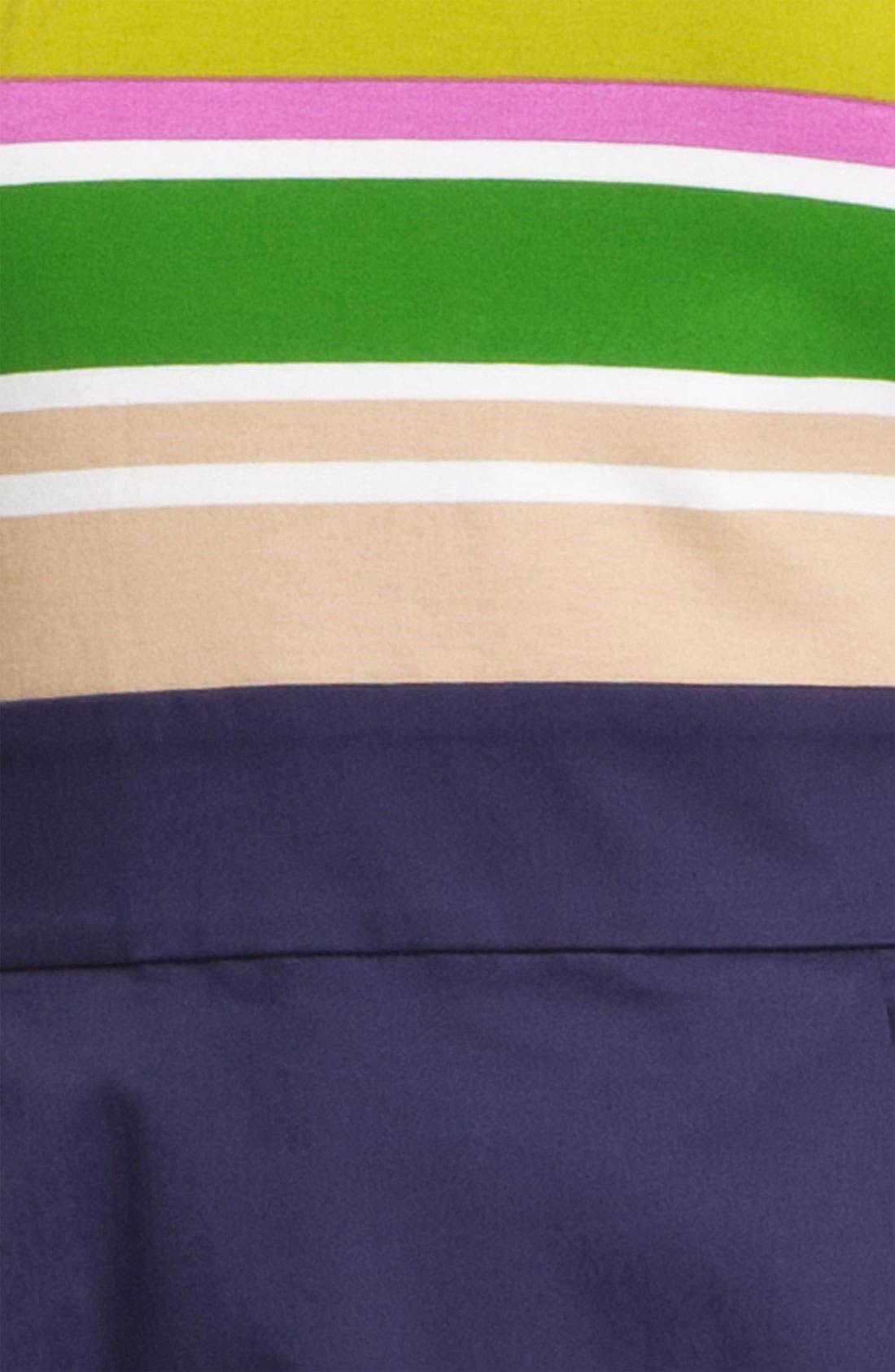 'jessica' stretch a-line dress,                             Alternate thumbnail 3, color,                             800