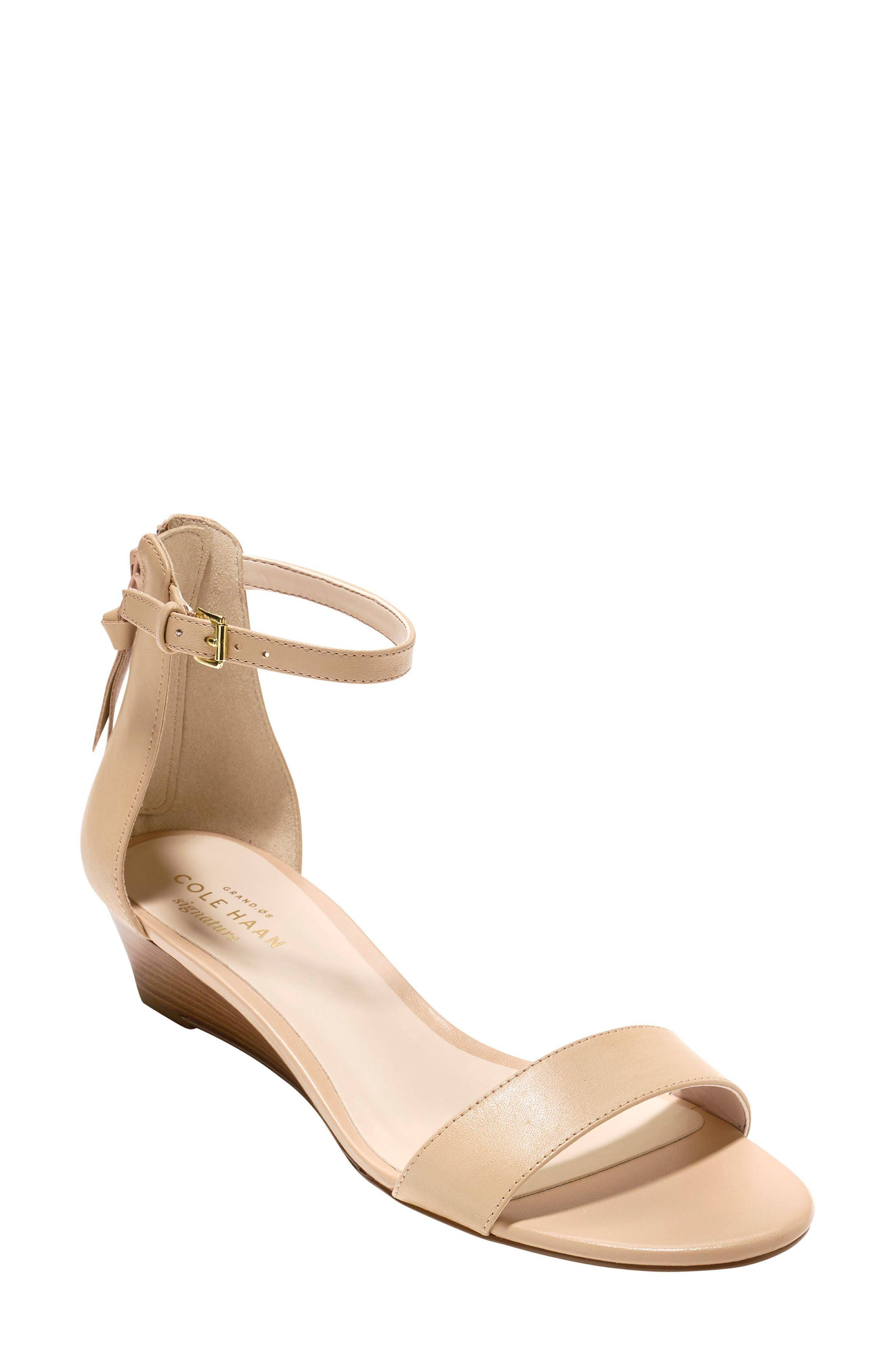 Adderly Sandal,                             Main thumbnail 1, color,                             NUDE LEATHER