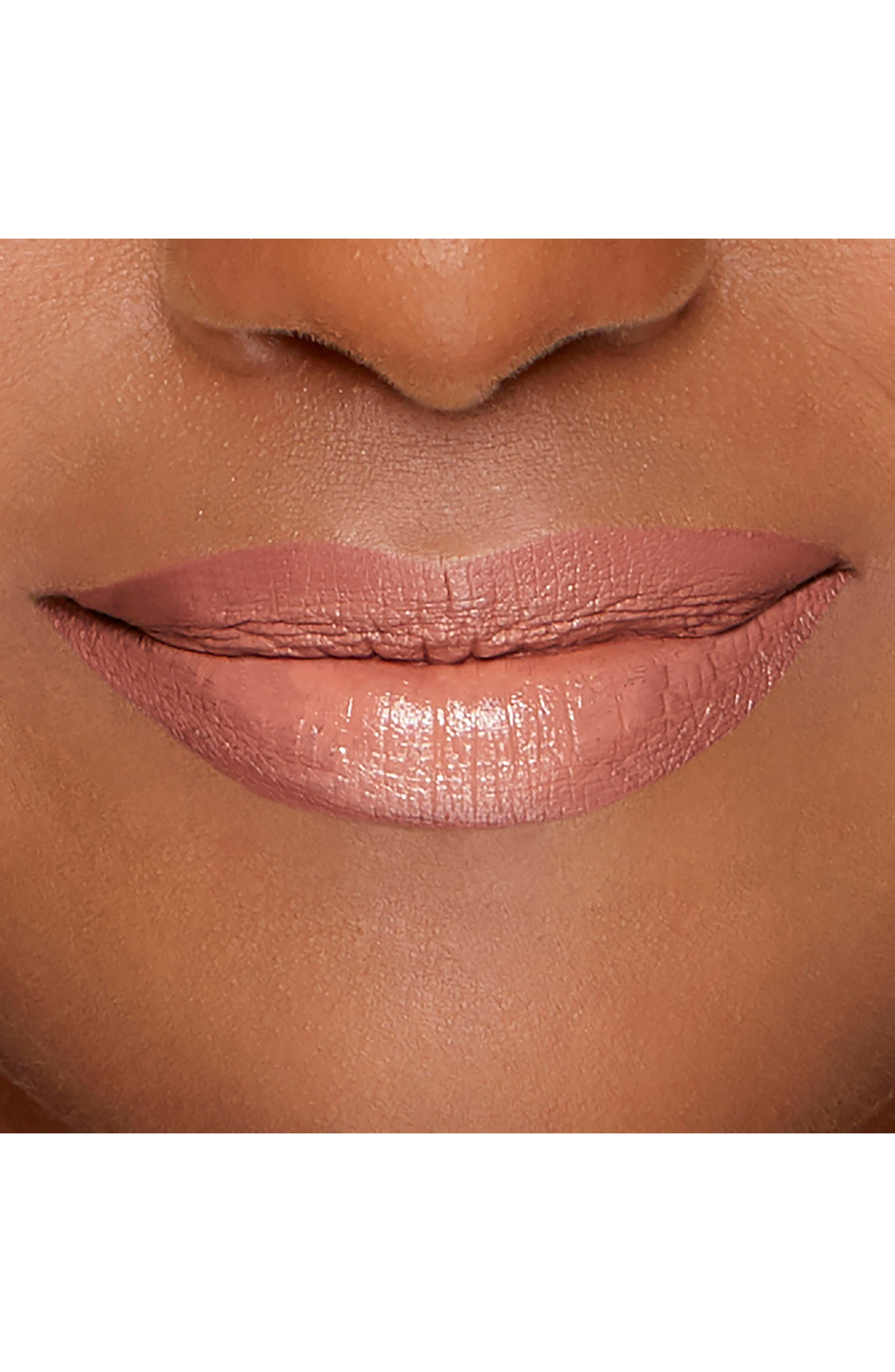 Melted Liquified Long Wear Lipstick,                             Alternate thumbnail 6, color,                             NUDE
