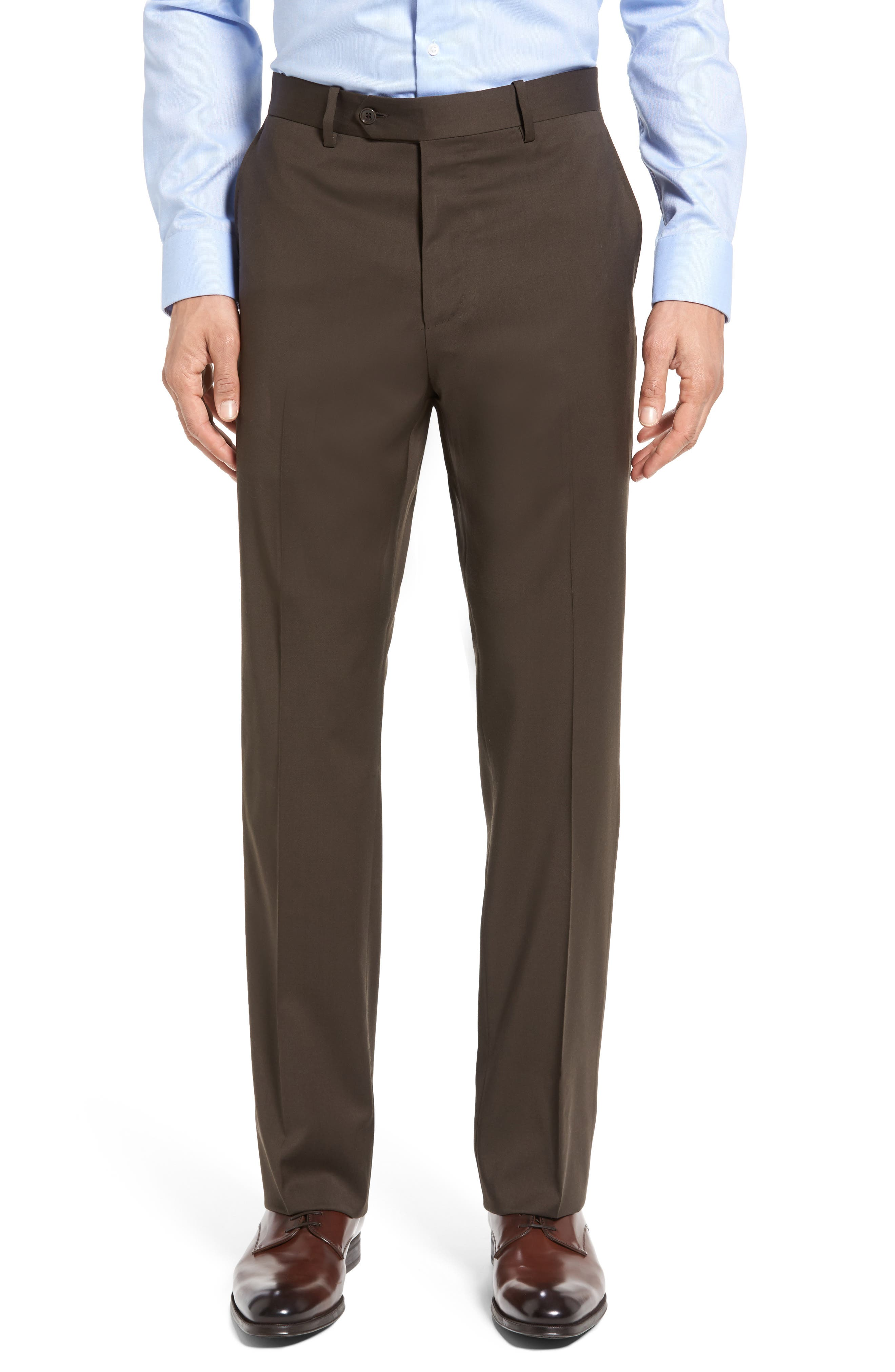 Classic Fit Solid Wool Suit,                             Alternate thumbnail 33, color,