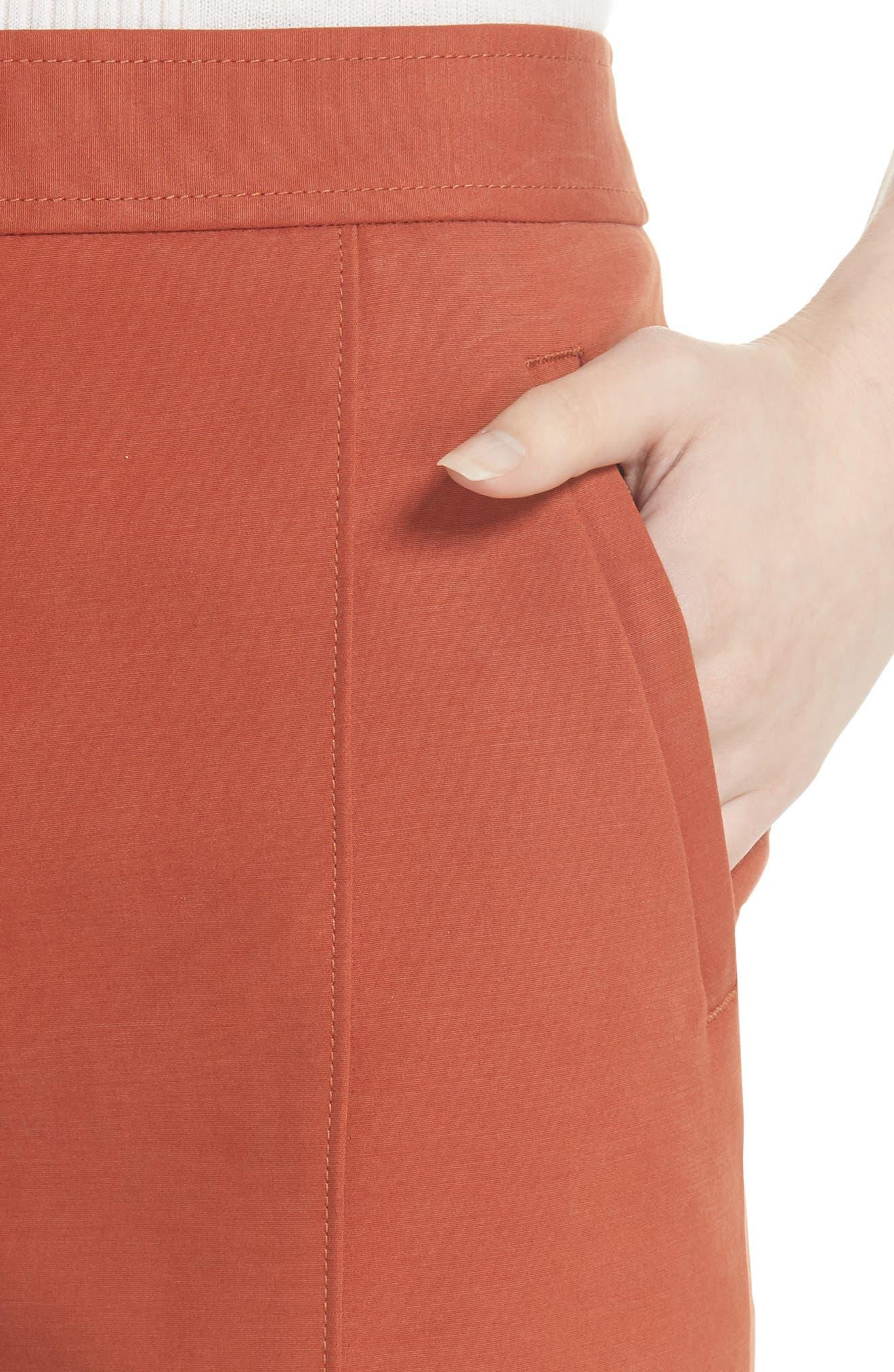 Vanner Slim Leg Ankle Pants,                             Alternate thumbnail 4, color,                             DESERT SPICE