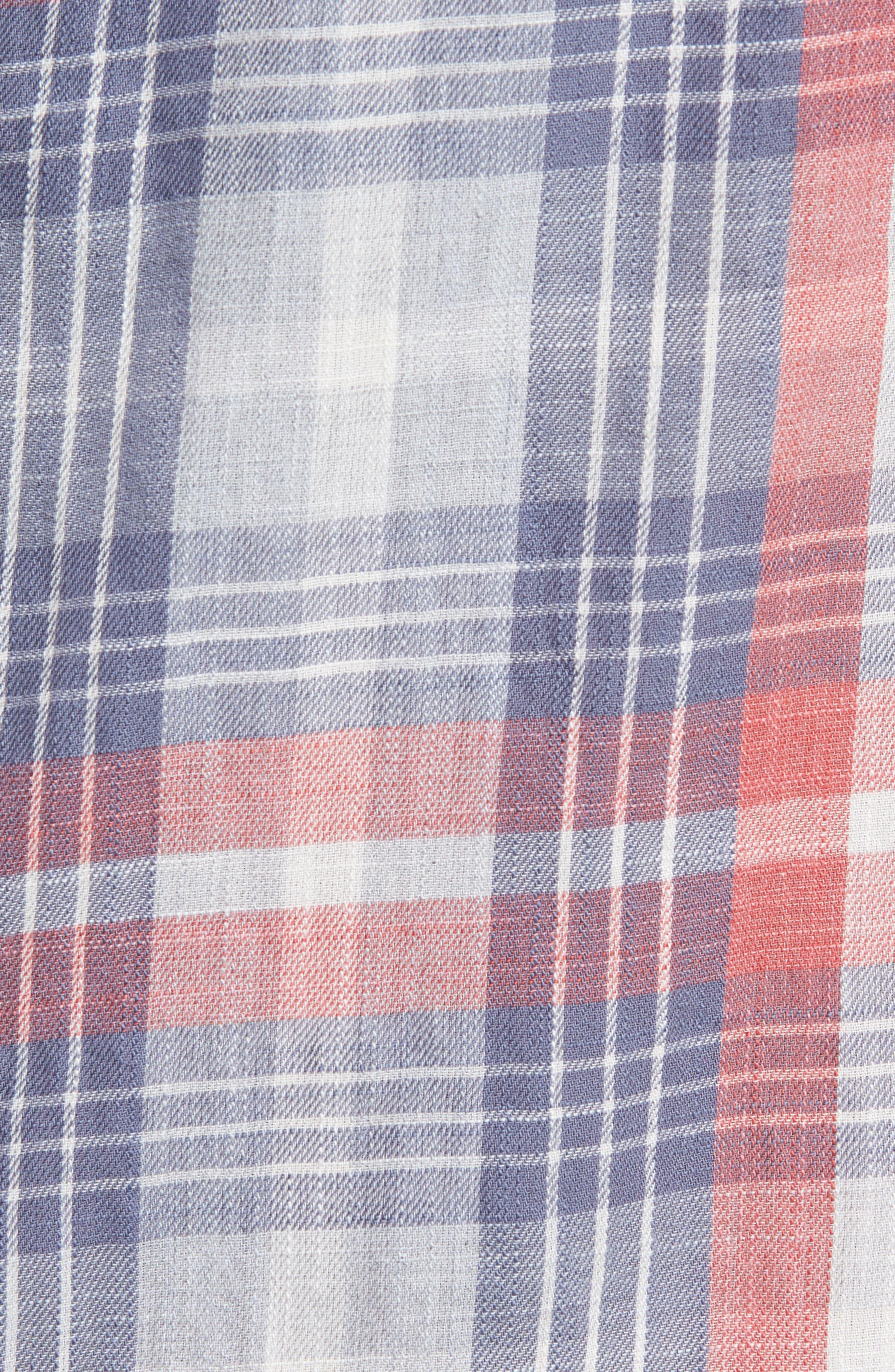 Reynolds Short Sleeve Sport Shirt,                             Alternate thumbnail 5, color,                             649