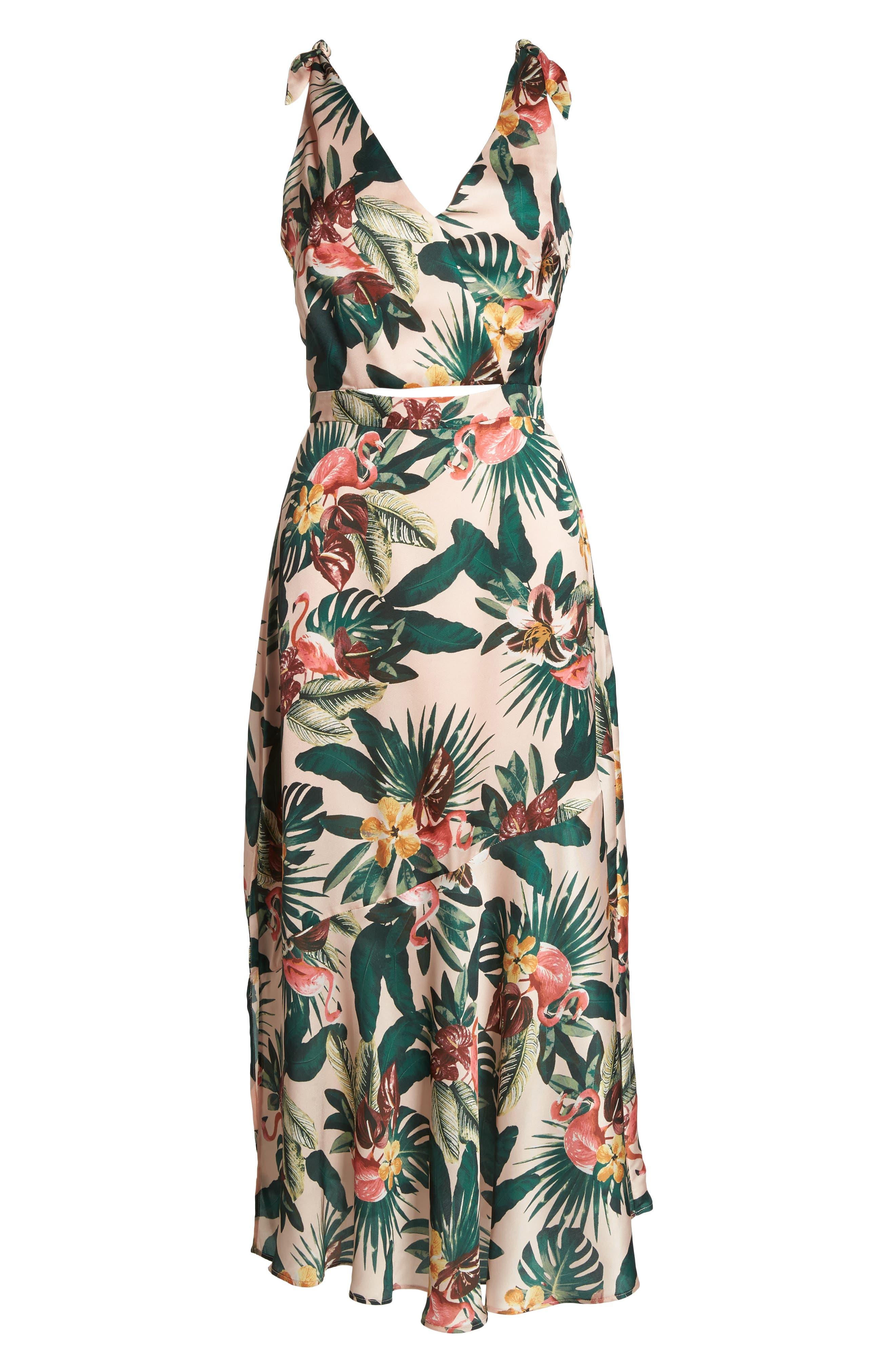 Peekaboo Dress,                             Alternate thumbnail 7, color,                             680