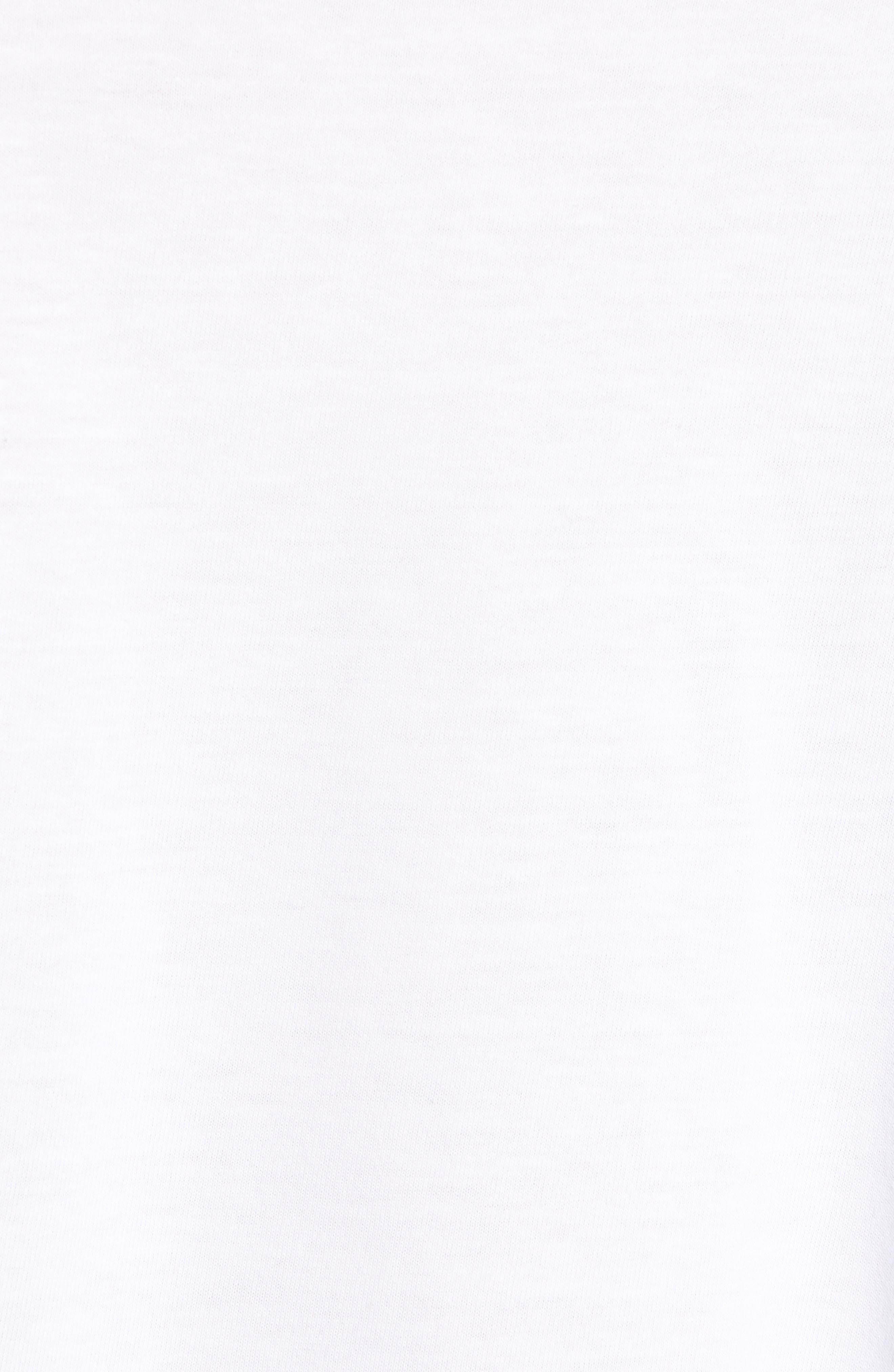 Panther Graphic T-Shirt,                             Alternate thumbnail 5, color,                             WHITE / BLACK