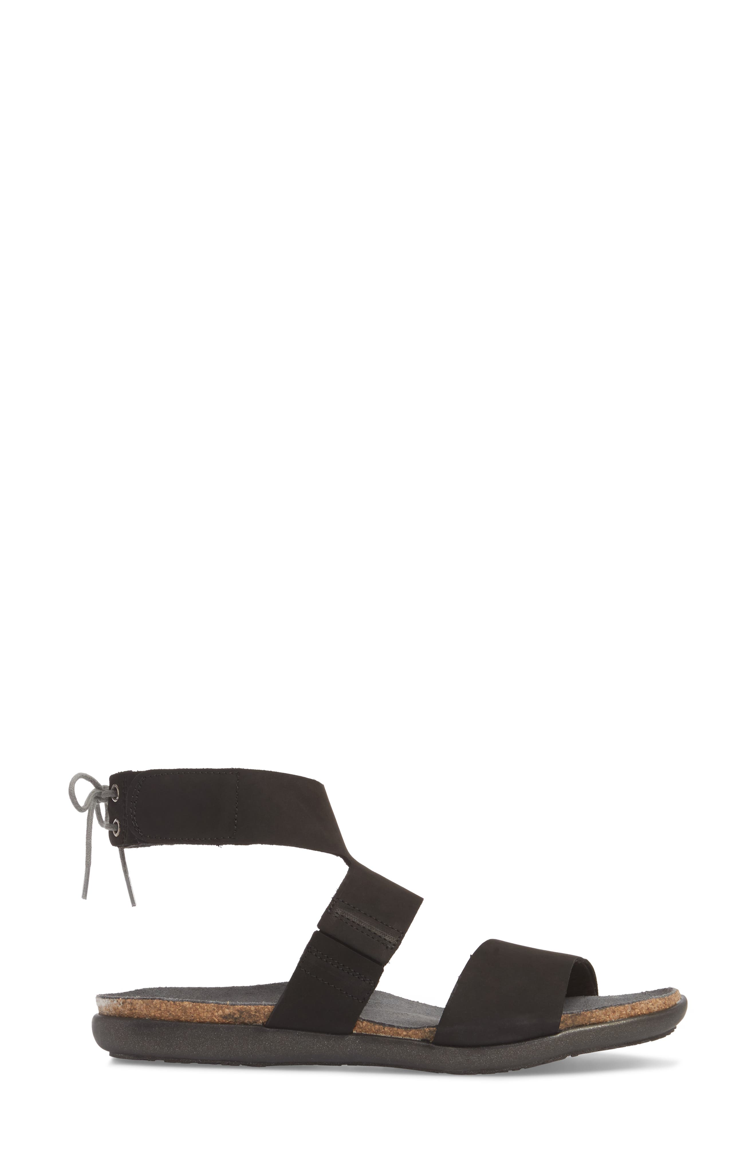 Larissa Ankle Strap Sandal,                             Alternate thumbnail 9, color,