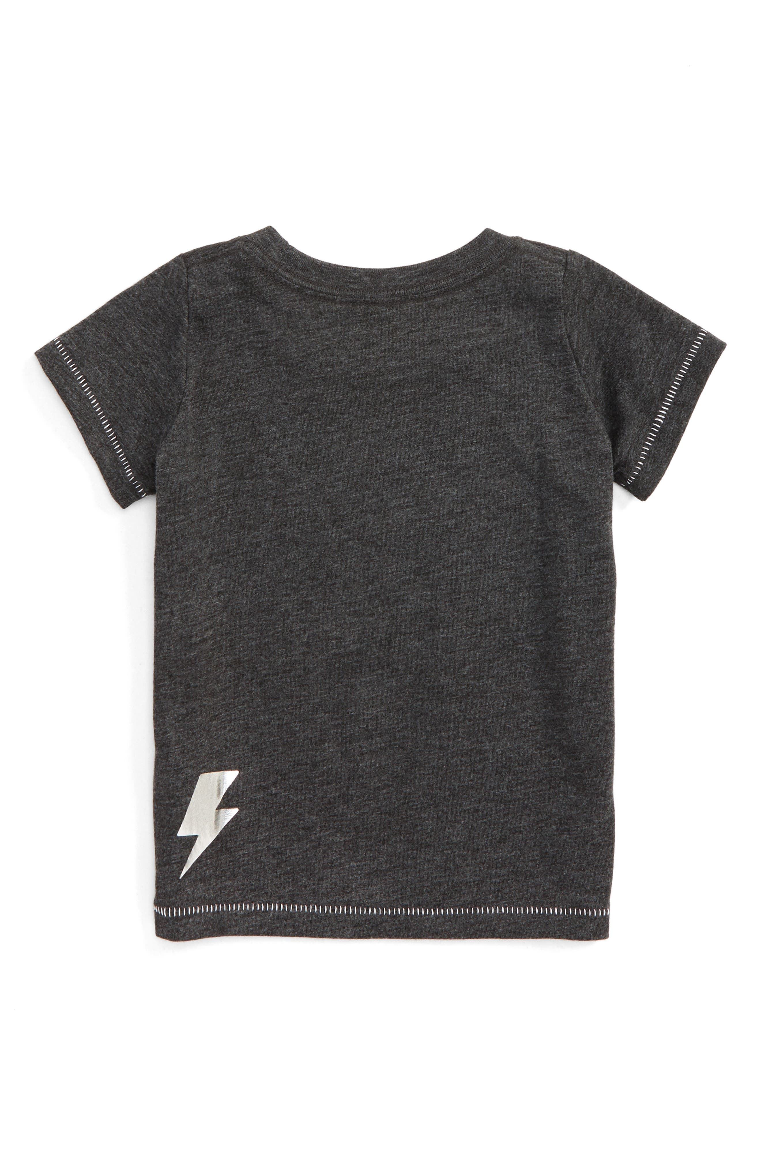 Powered By Fun Graphic Tee,                             Alternate thumbnail 2, color,                             021