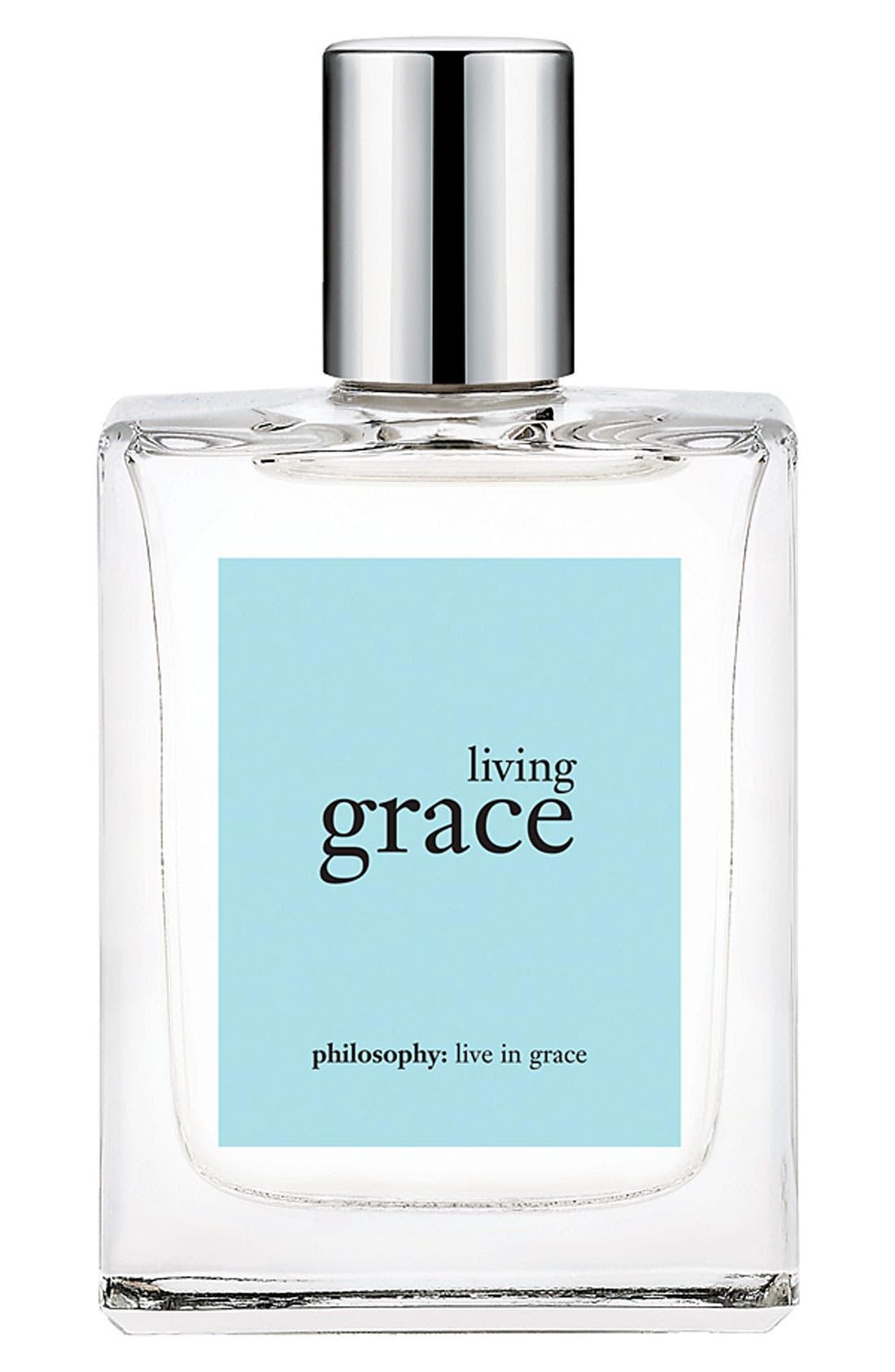 'living grace' eau de toilette,                             Main thumbnail 1, color,
