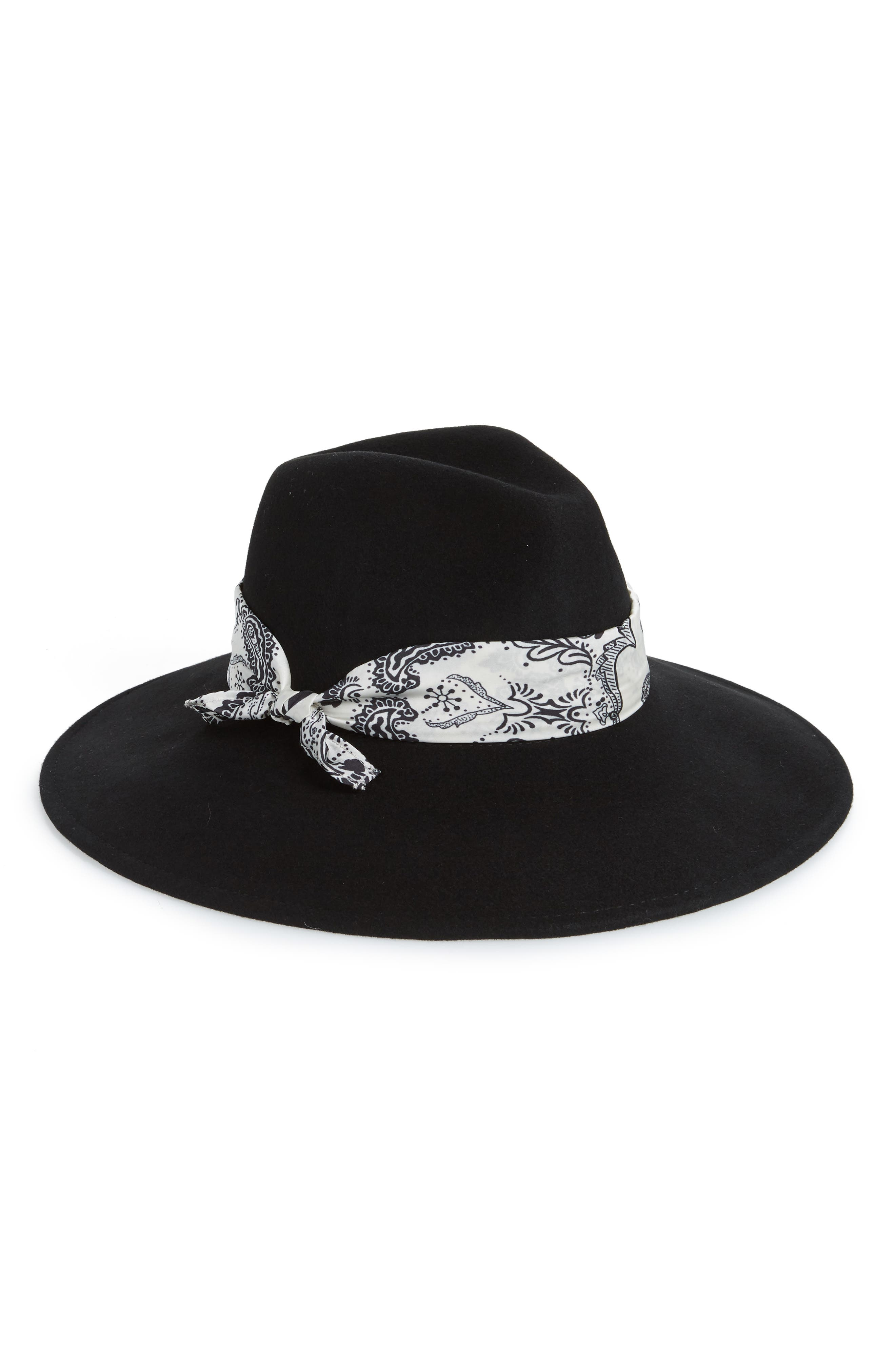 GENIE BY EUGENIA KIM Naomi Felted Wool Hat - Black