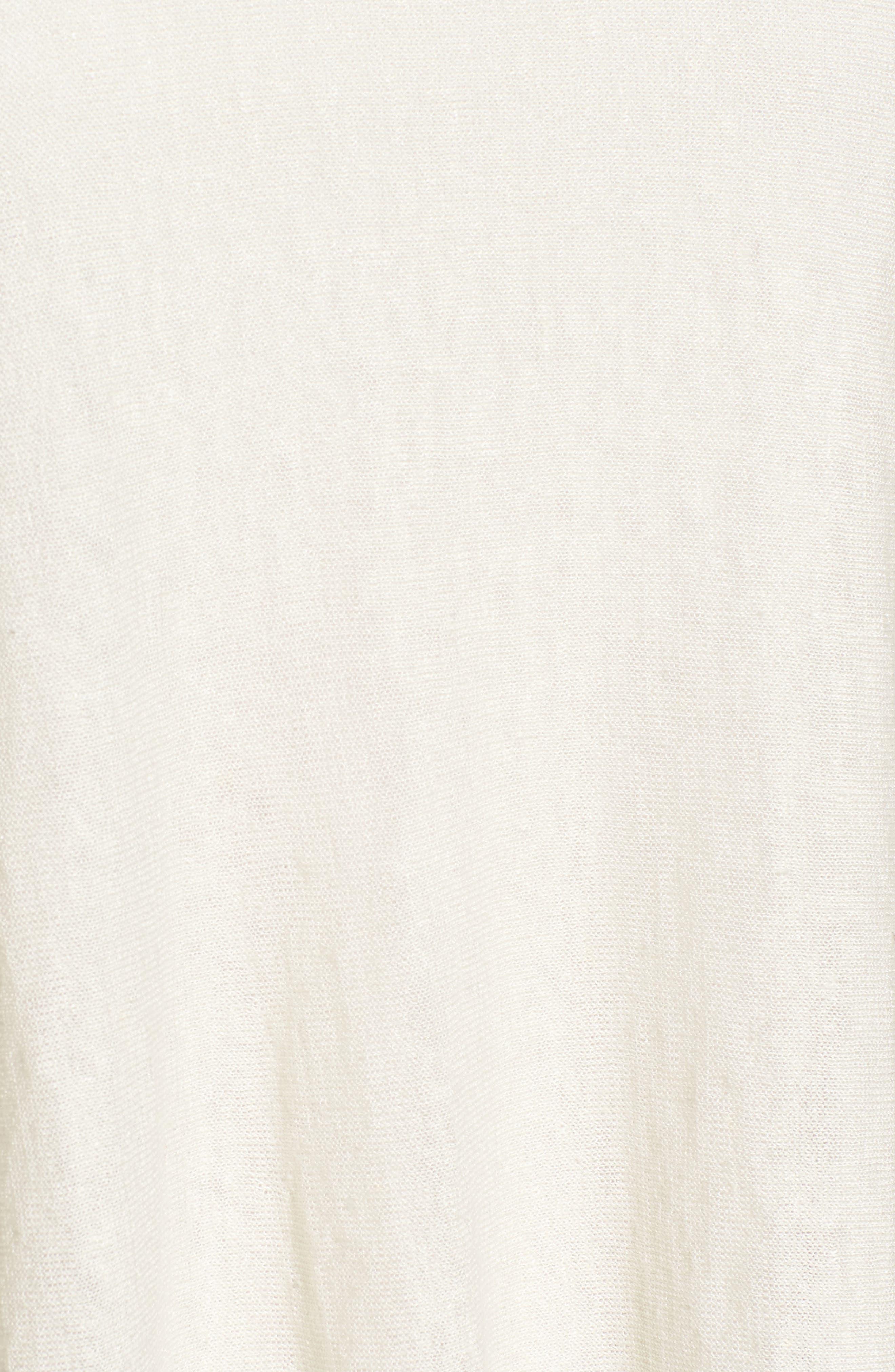 Organic Linen Blend Swing Sweater,                             Alternate thumbnail 39, color,