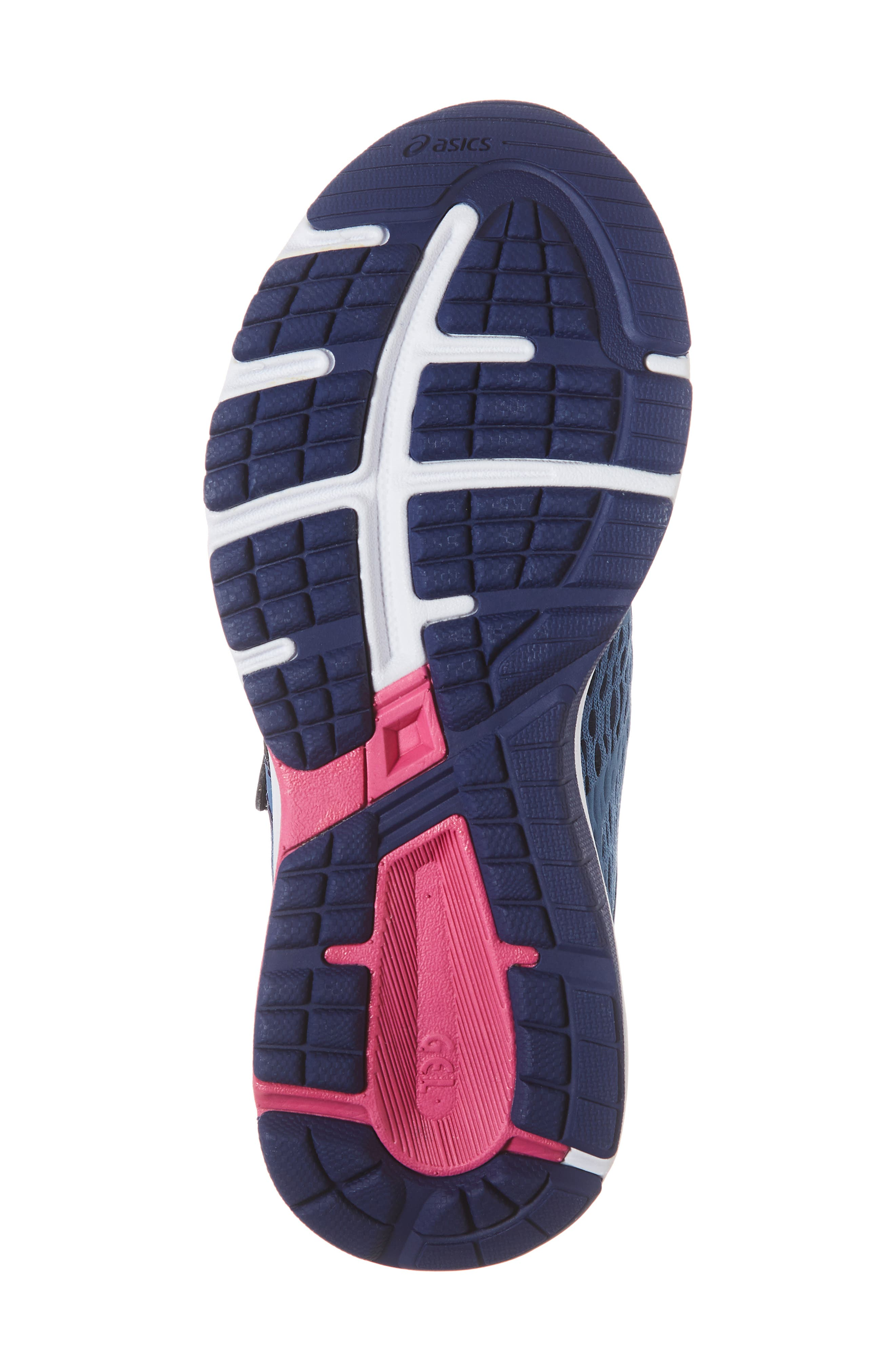 GT 1000 7 Running Shoe,                             Alternate thumbnail 6, color,                             AZURE/ FUCHSIA PURPLE
