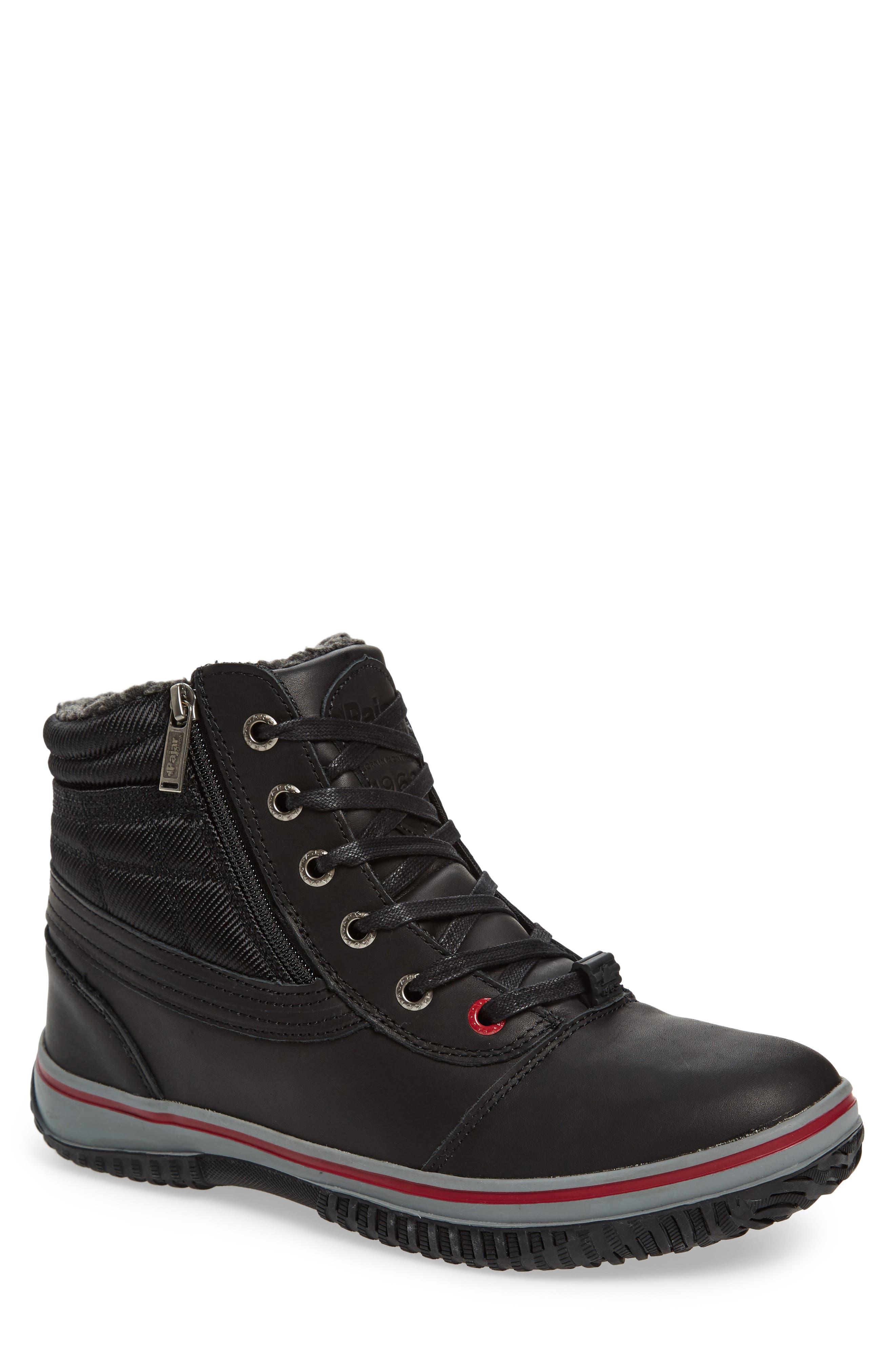 Tavin Waterproof Winter Boot,                             Main thumbnail 1, color,                             001