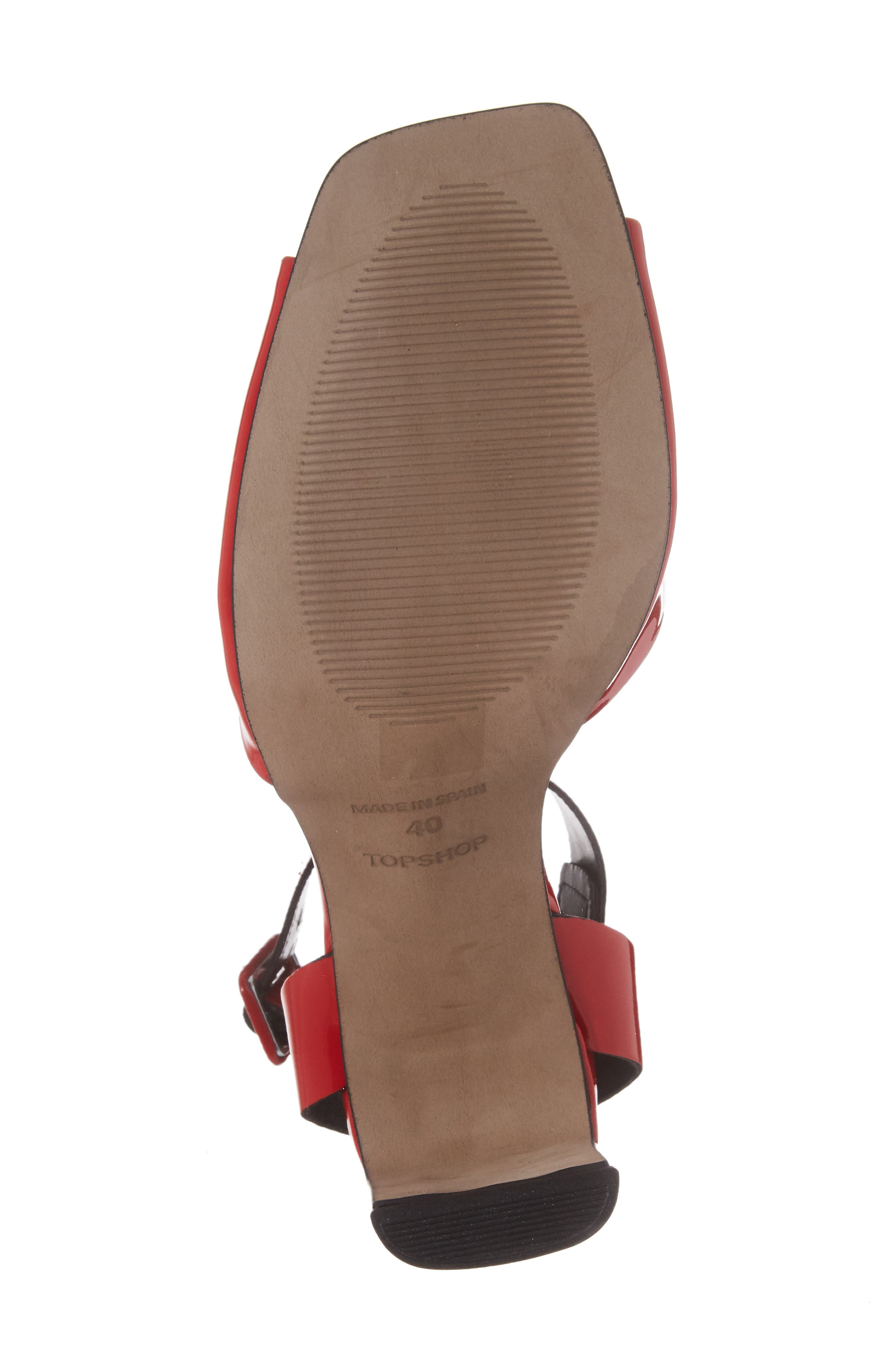 Roux Square Toe Sandal,                             Alternate thumbnail 17, color,