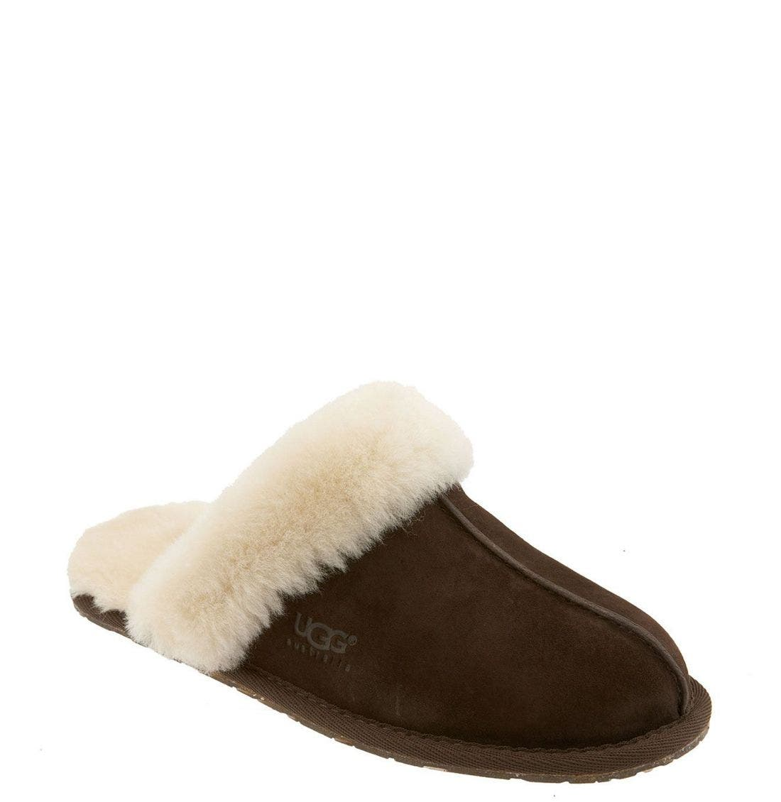 Scuffette II Slipper,                         Main,                         color, ESPRESSO